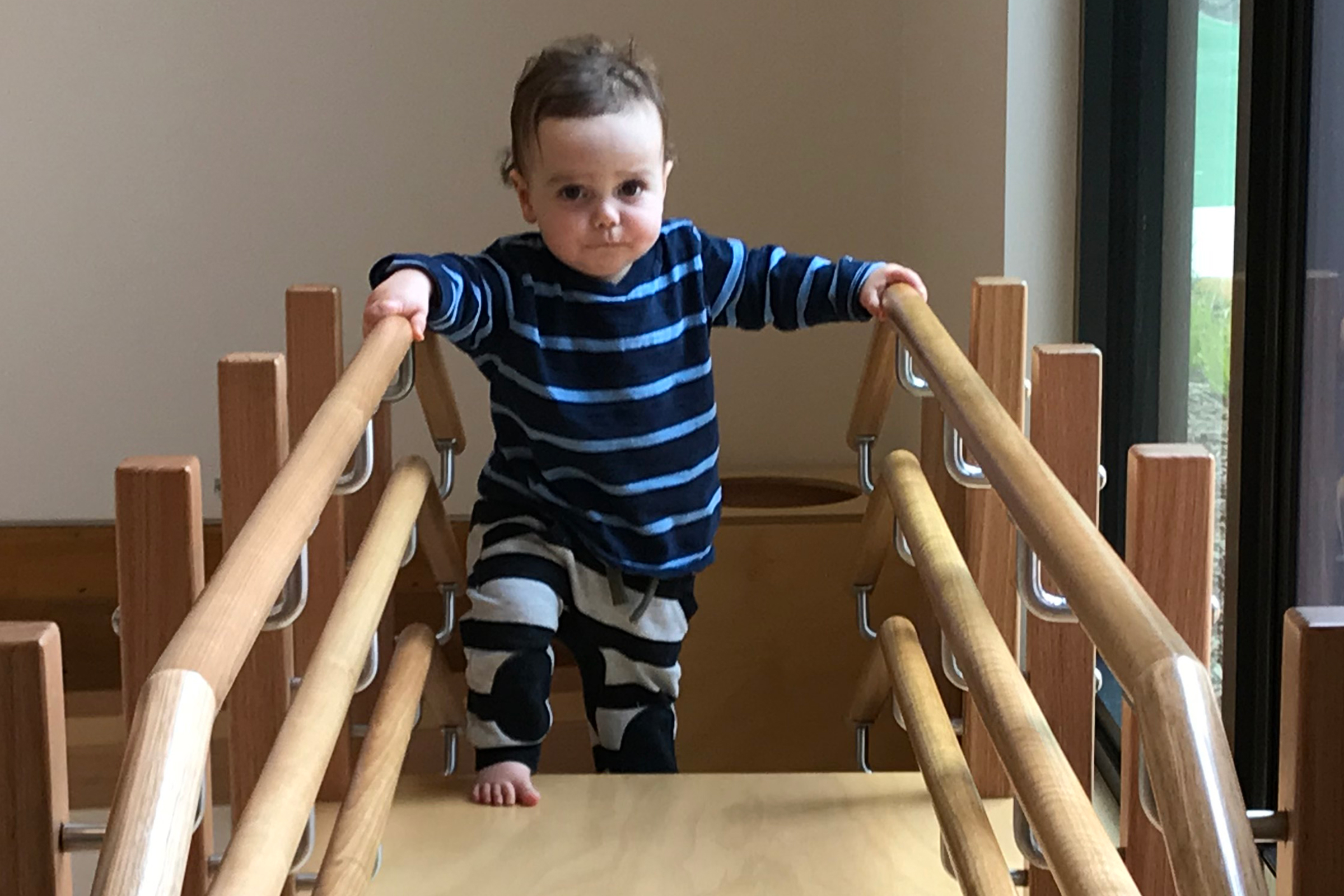 What We Do Infant Walking Stairs