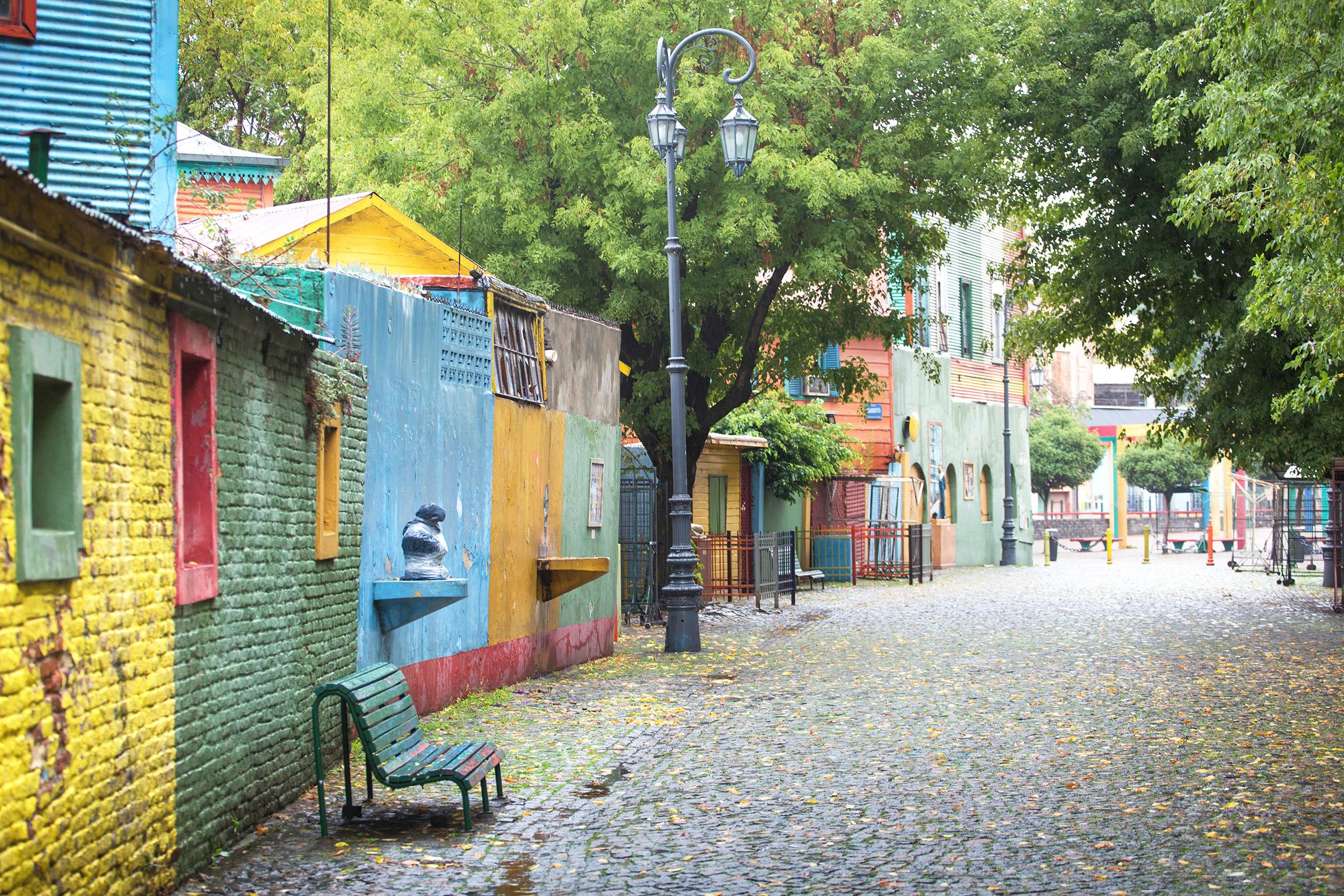 Argentina Buenos Aires Caminito La Boca