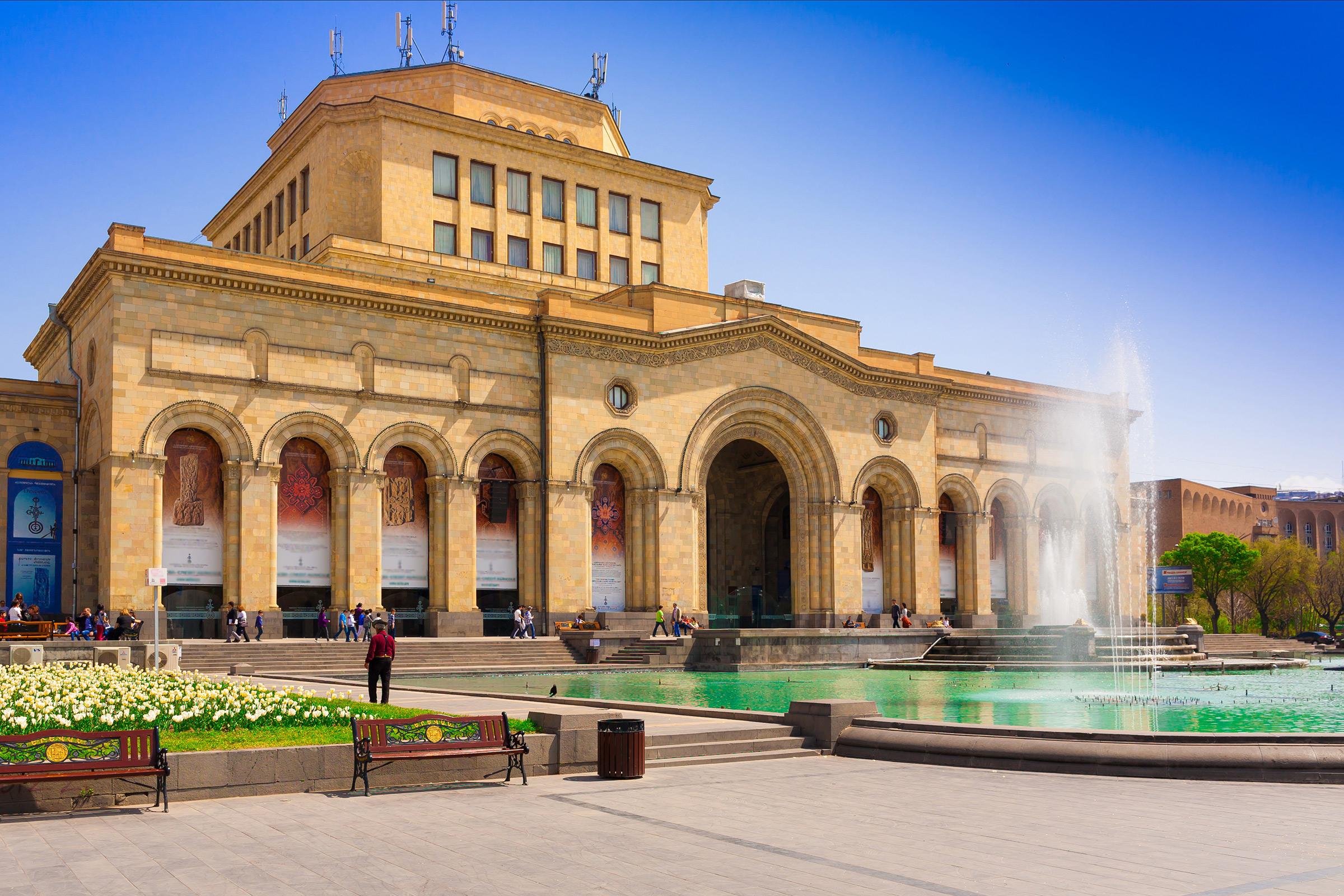 Armenia Yerevan Republic Square