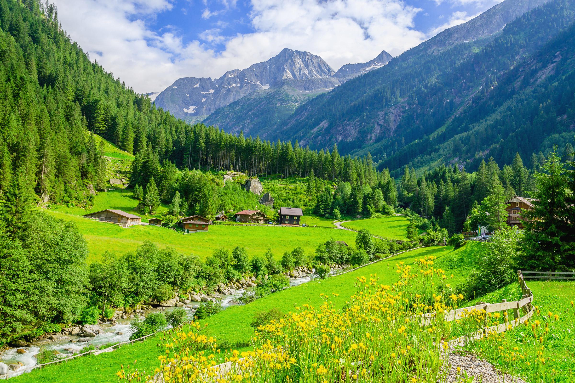 Austria Zillertal Alps