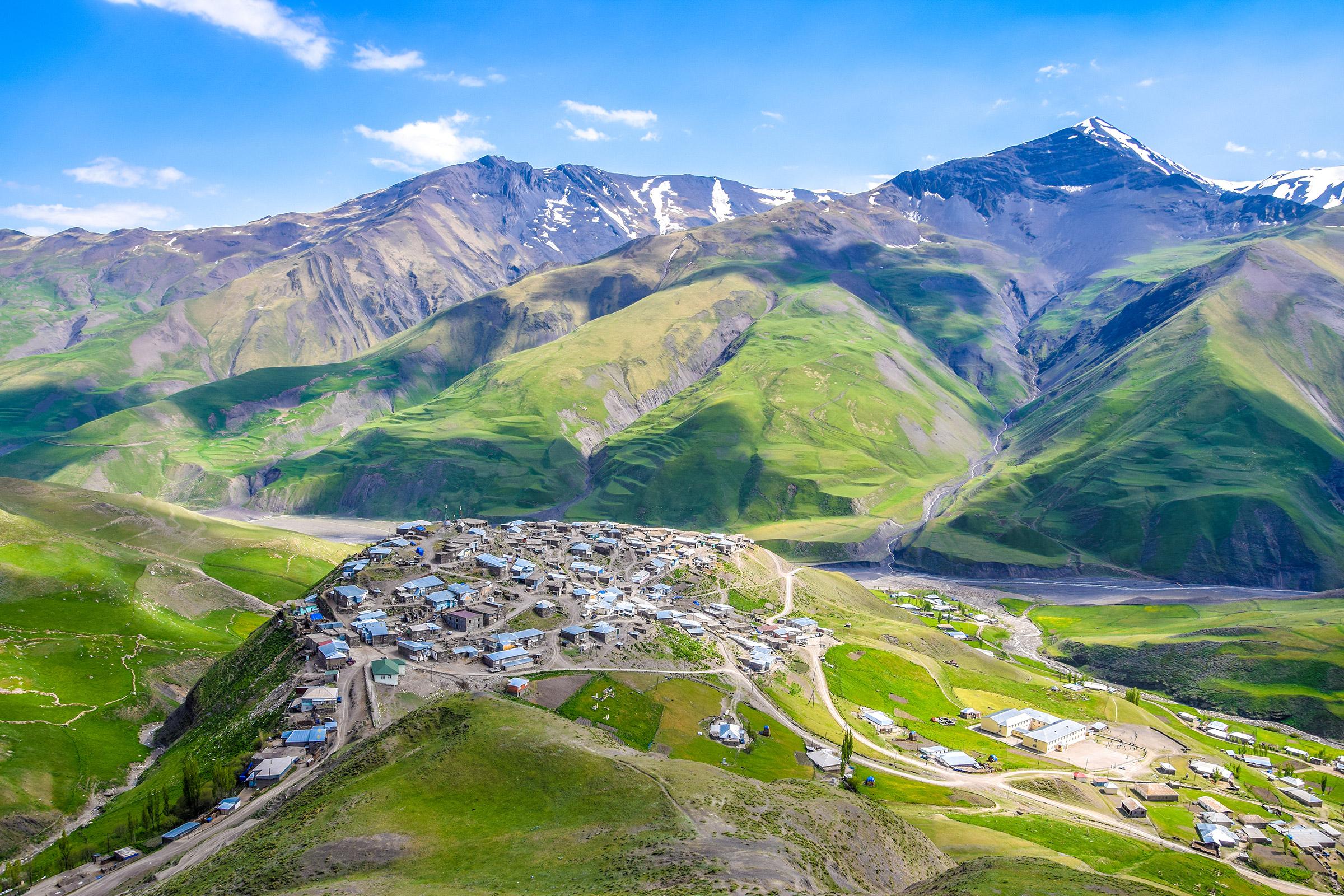 Azerbaijan Caucasus Mountains Xinaliq