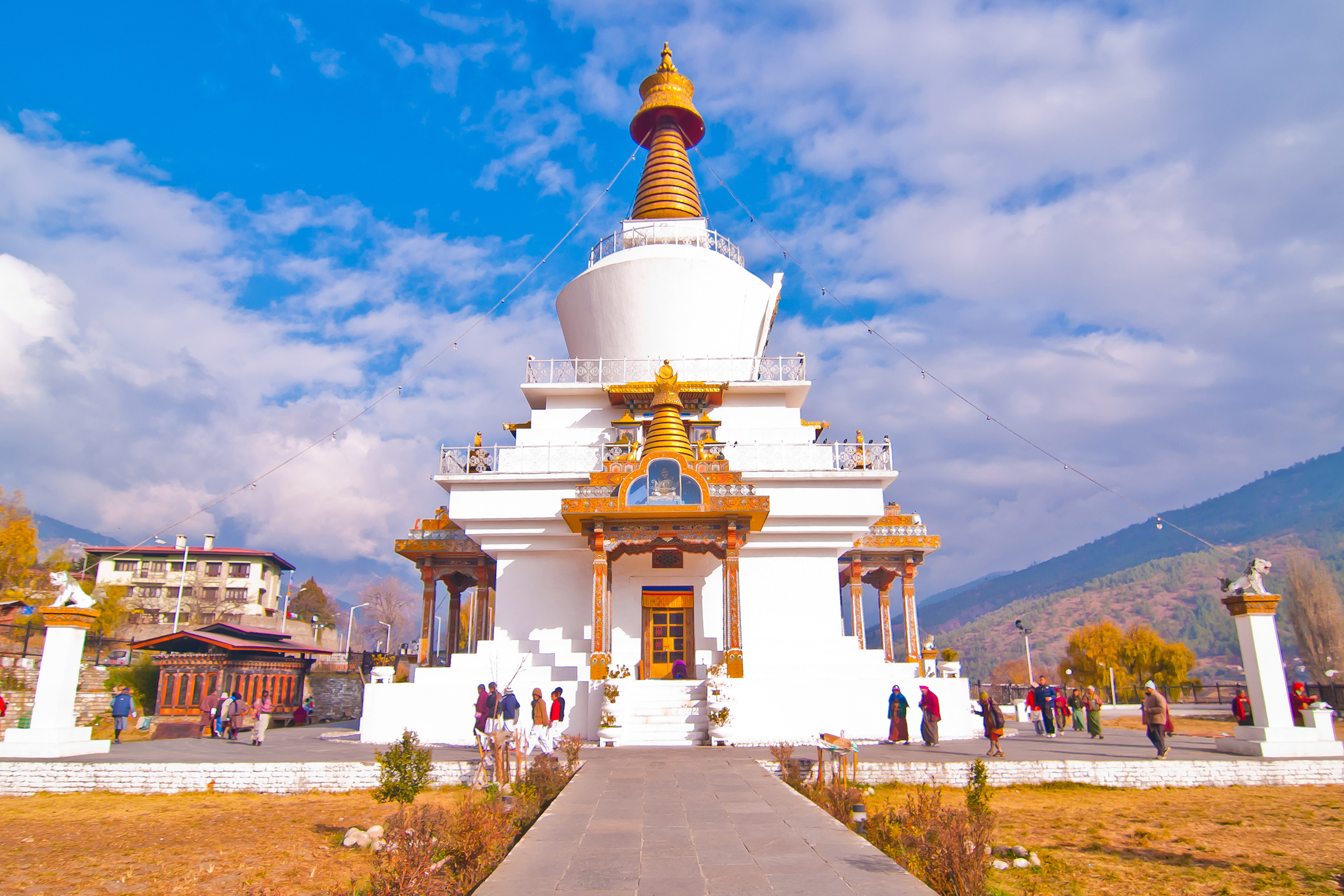 Bhutan ThimphuMemorial Stupa