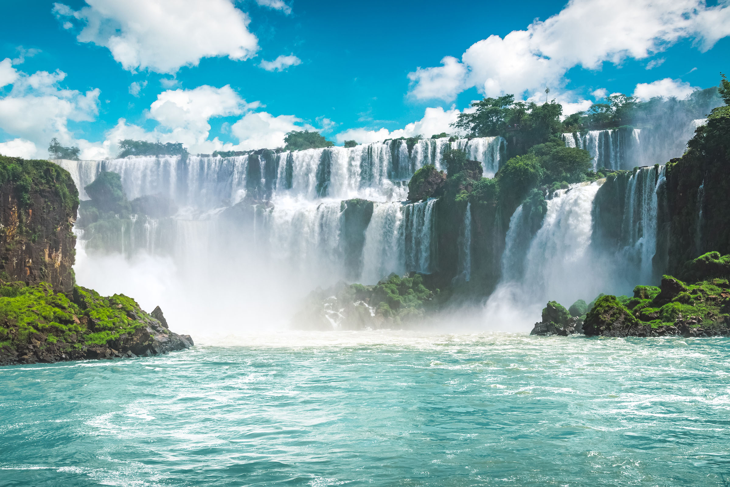 Brazil Iguazu Waterfalls