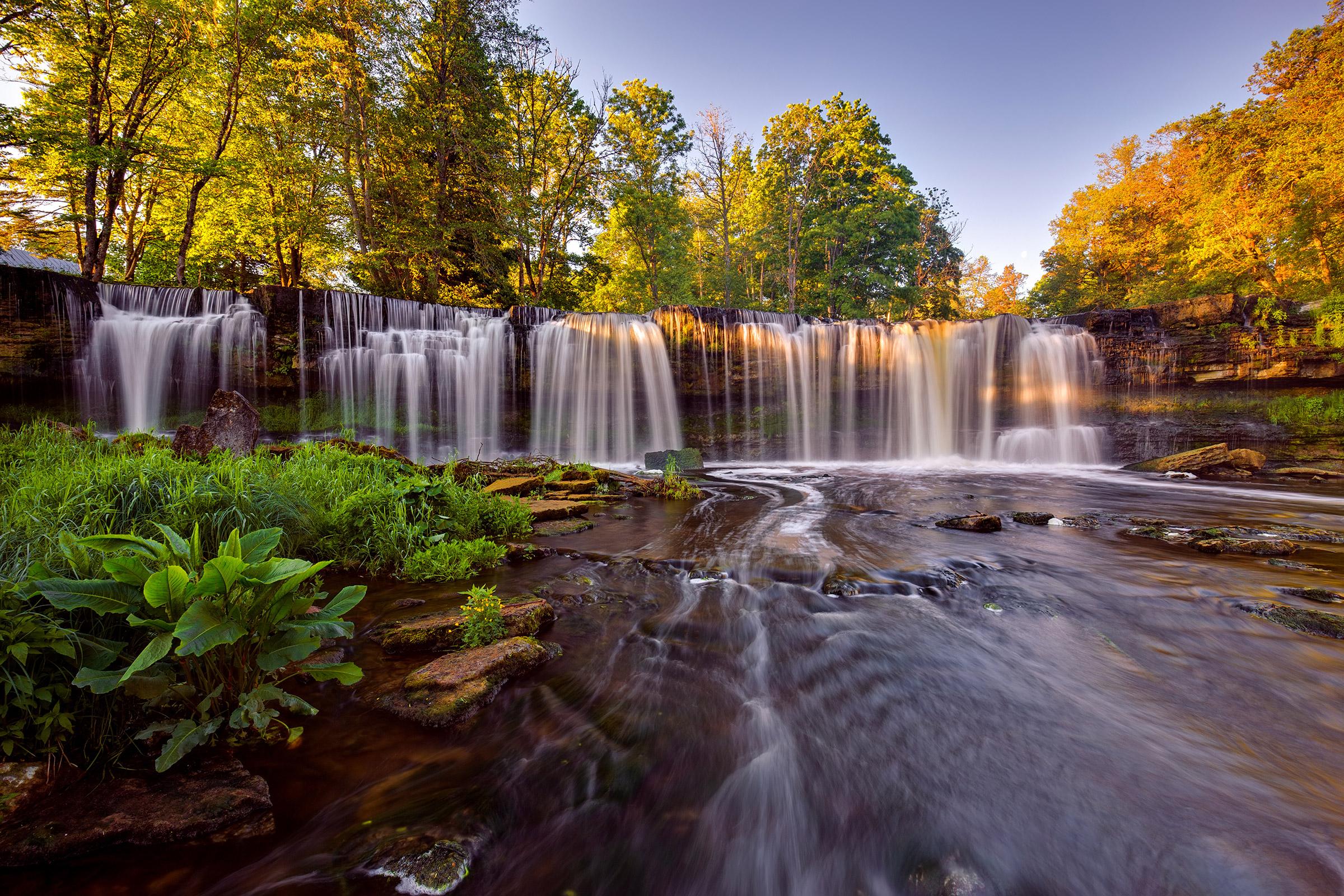 Estonia Keila Waterfall