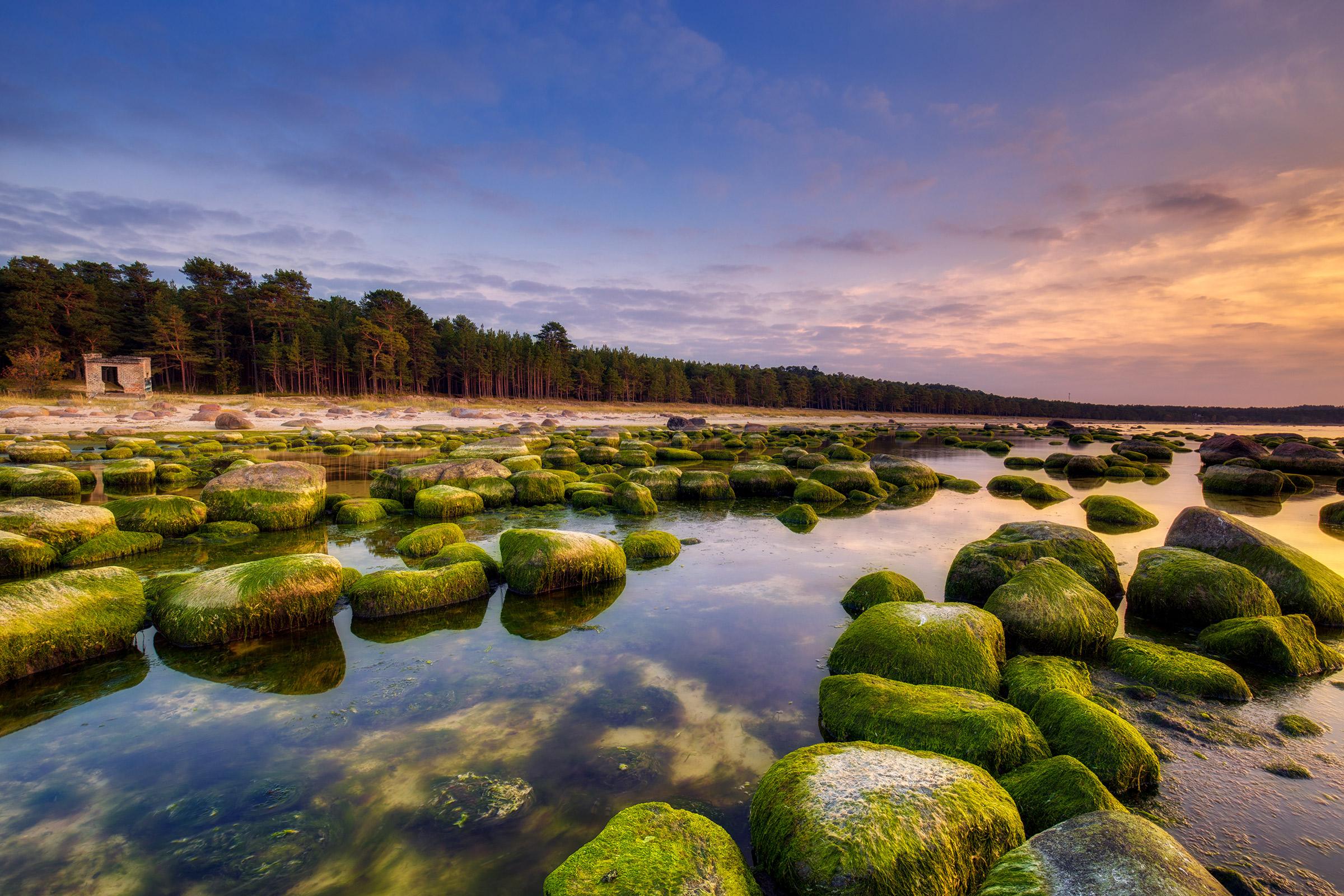 Estonia Baltic Sea The Gulf of Finland.