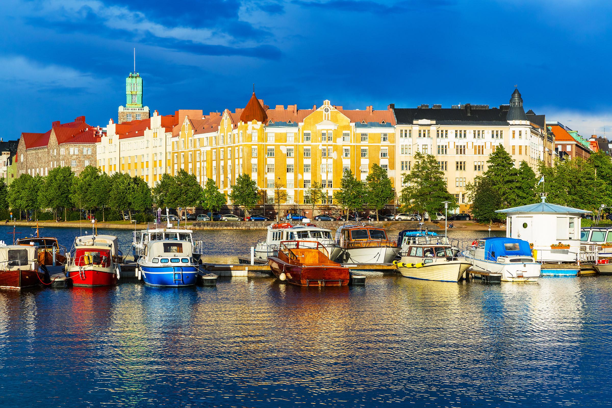 Finland Helsinki Old Town Pier