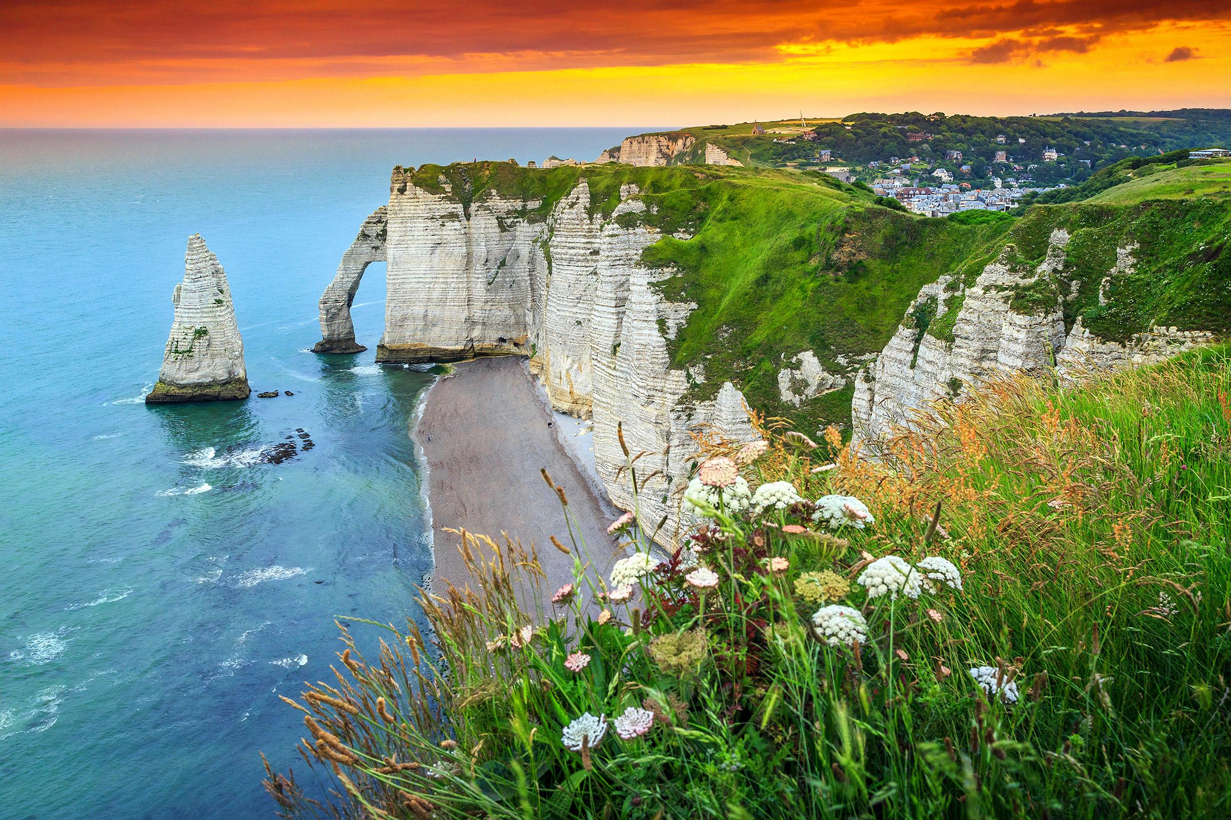France Normandy Étretat Porte d'Aval