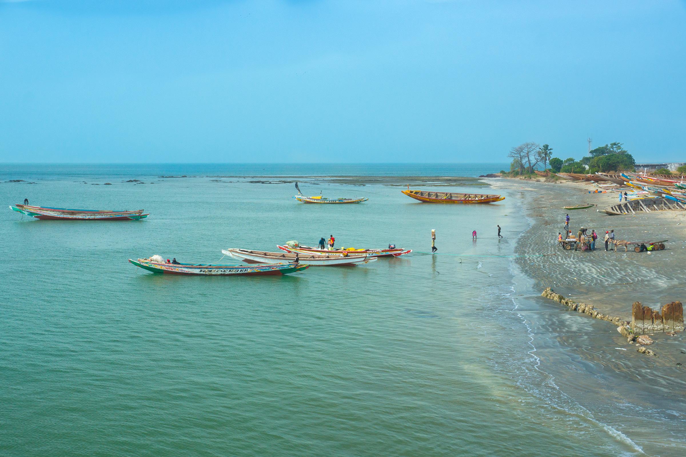 Gambia  Barra