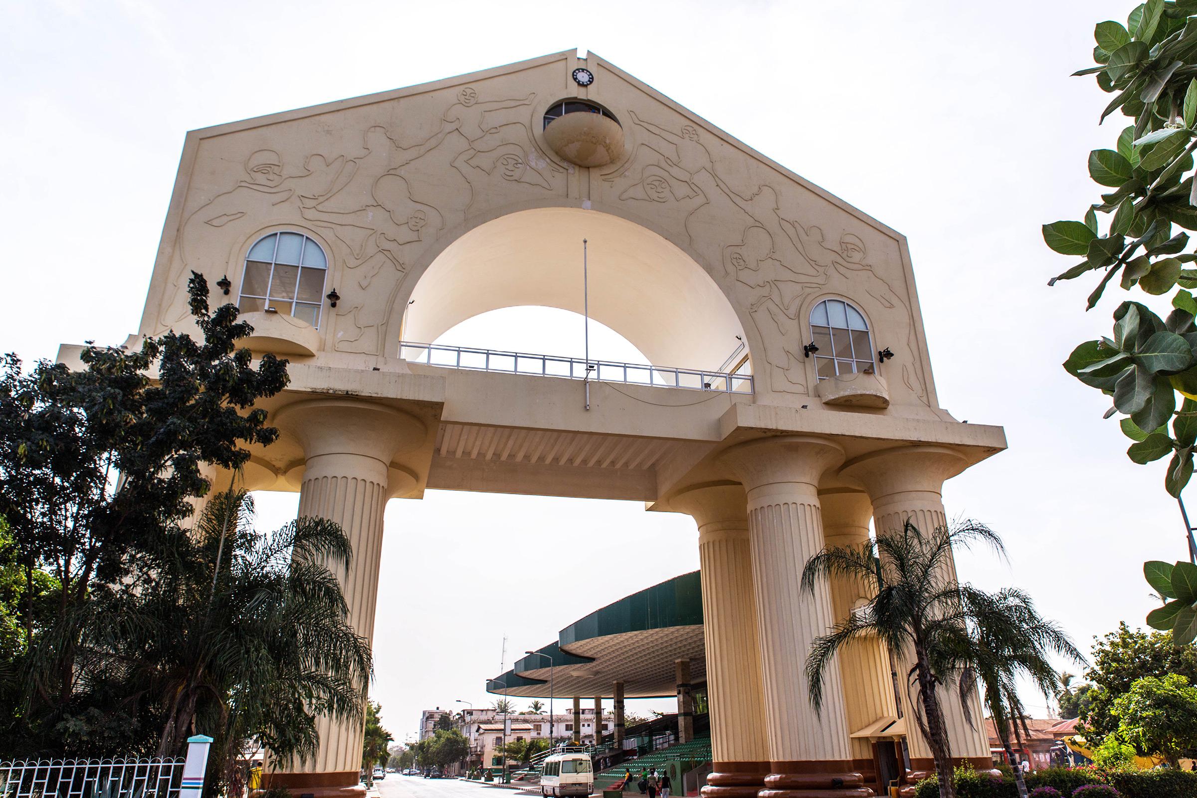 Gambia Banjul Arch 22