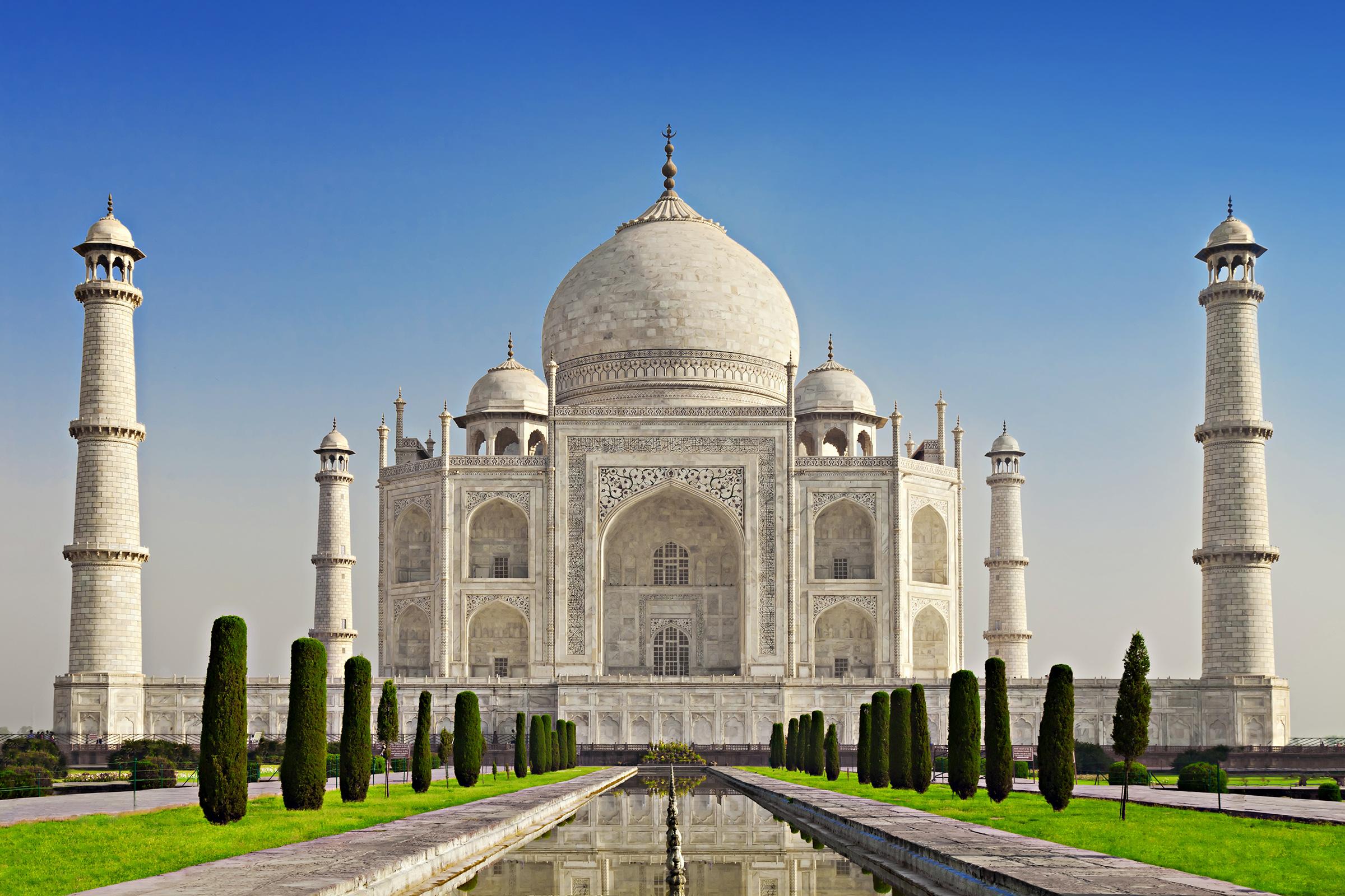 India Agra Taj Maha