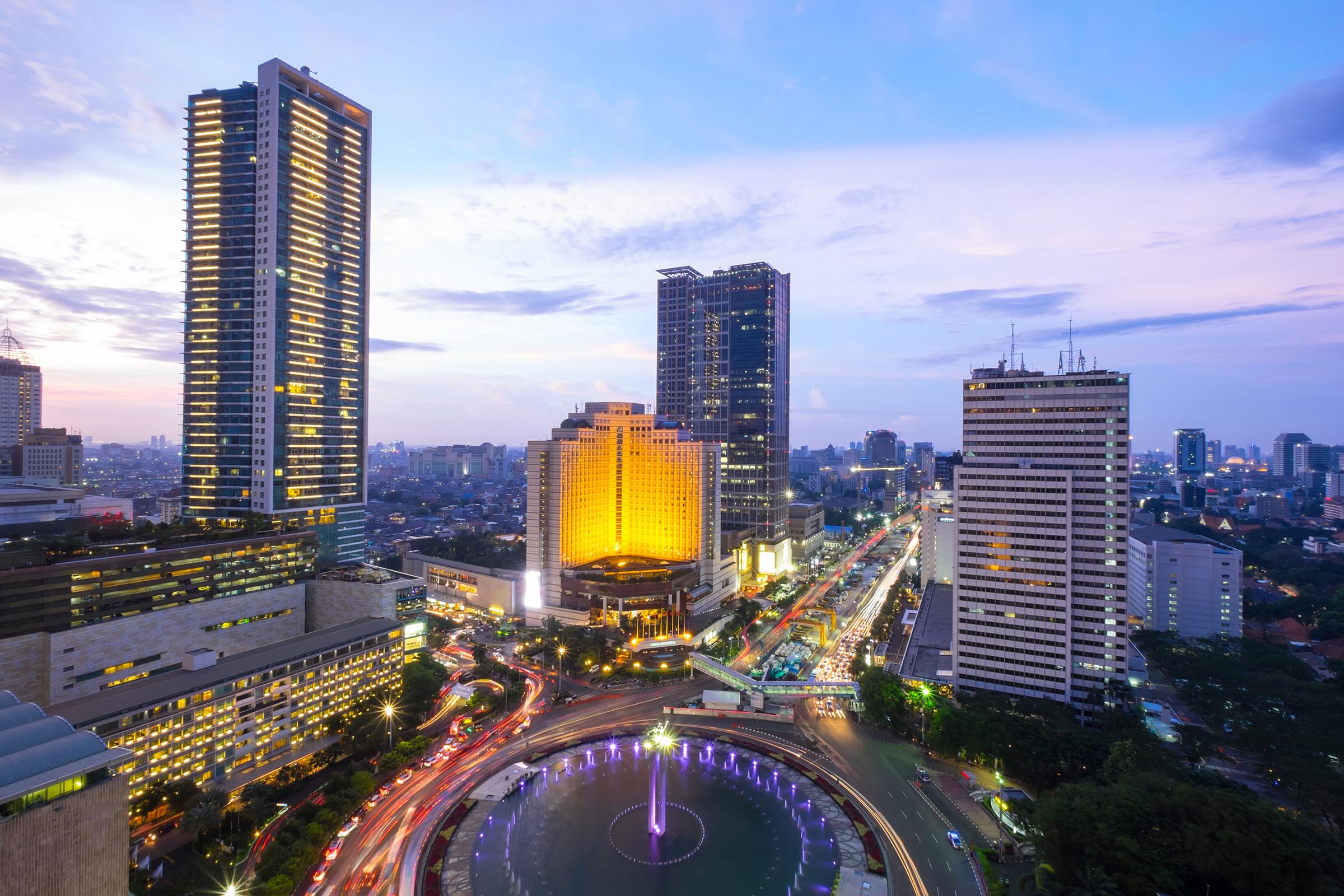Jakarta city, Indonesia