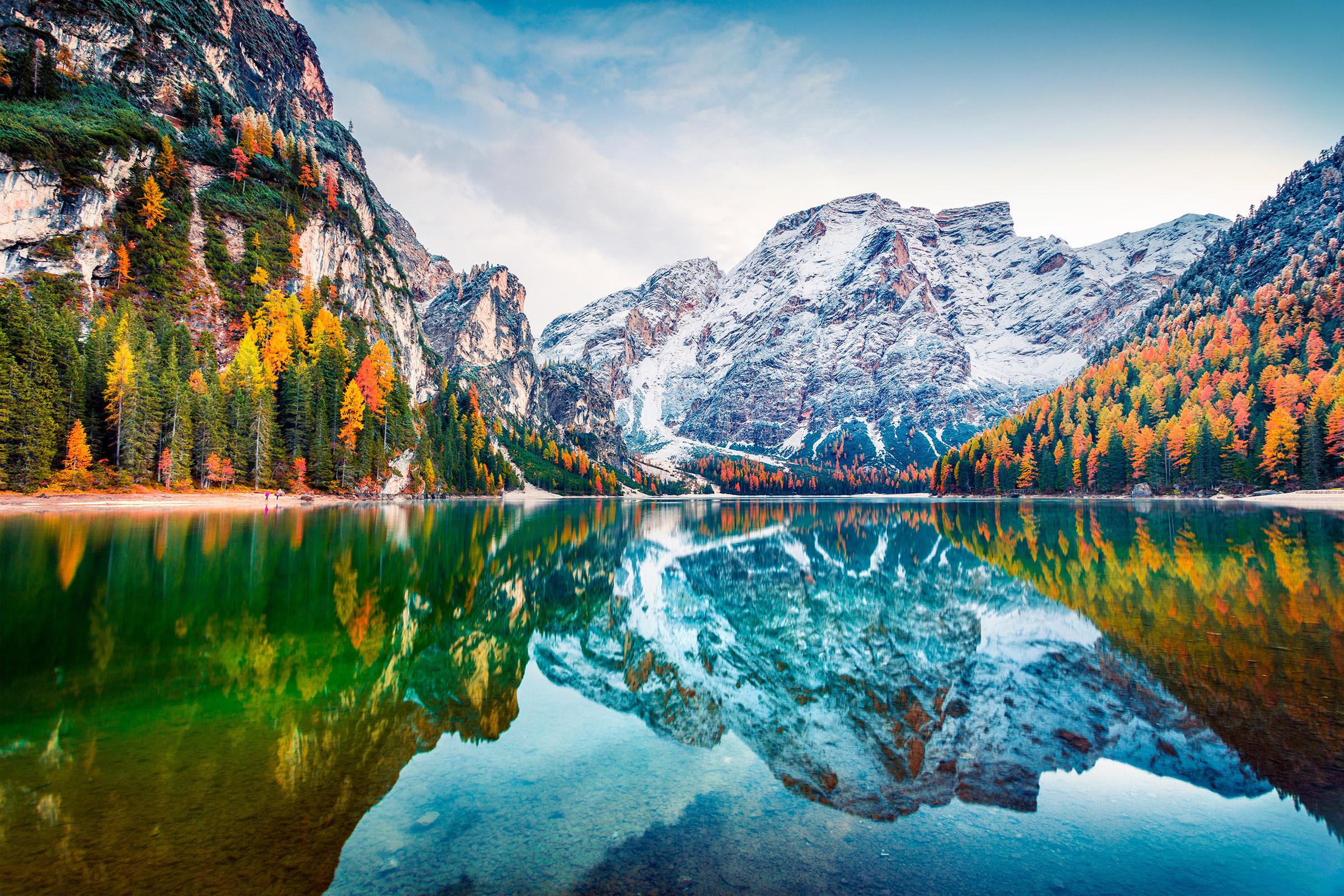 Italy Dolomites Fanes-Sennes-Prags Nature Park