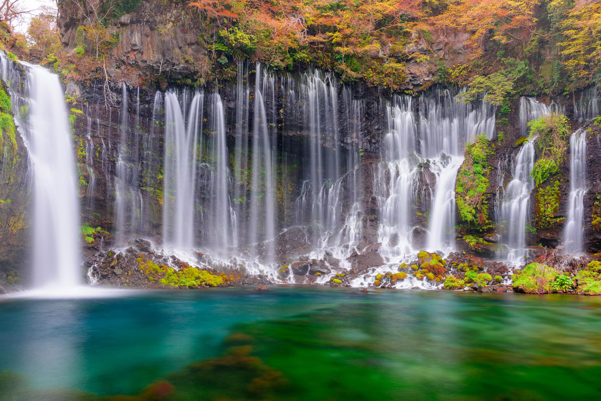 Japan Fujinomiya Shiraito Falls