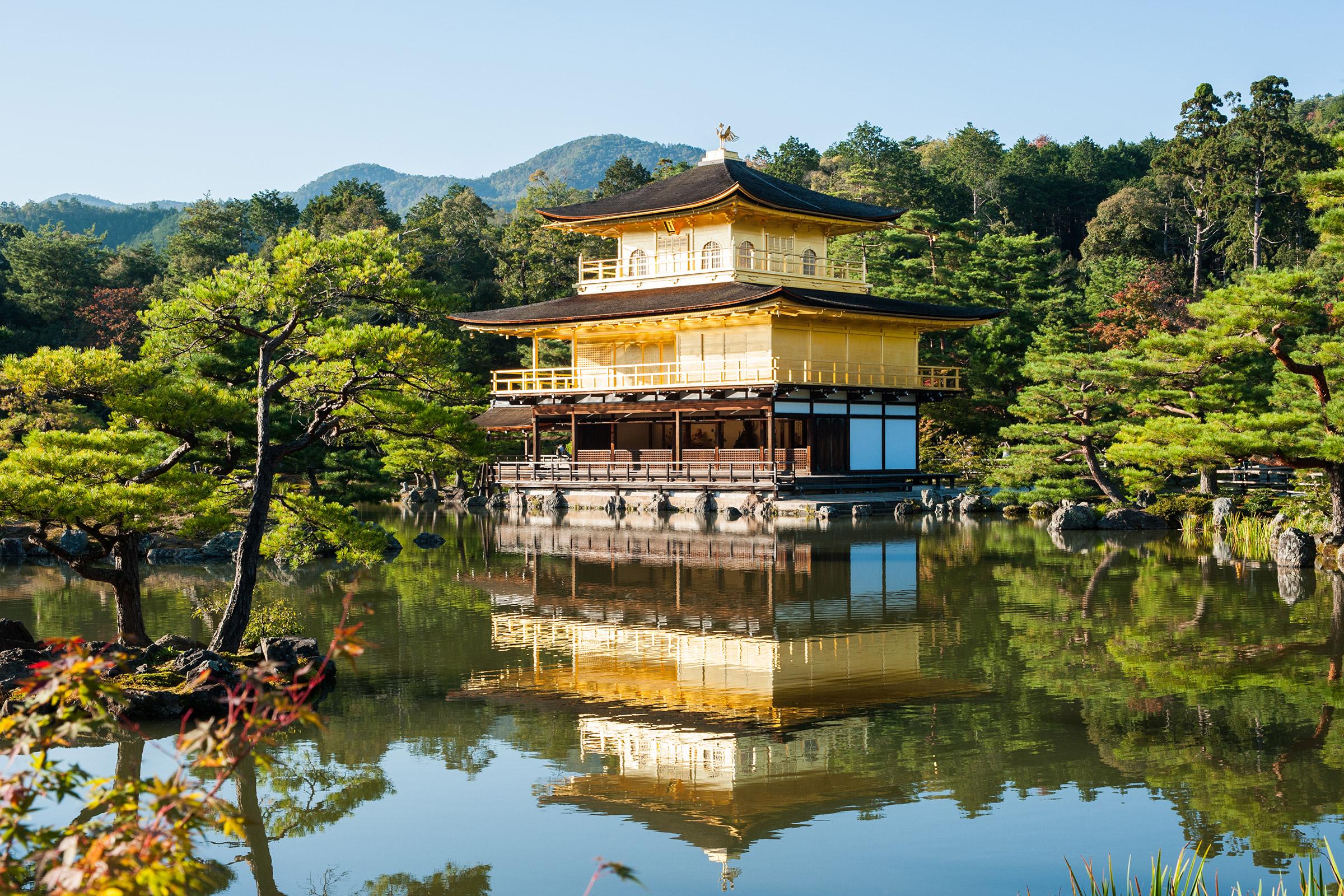 Japan Kyoto Deer Garden Temple
