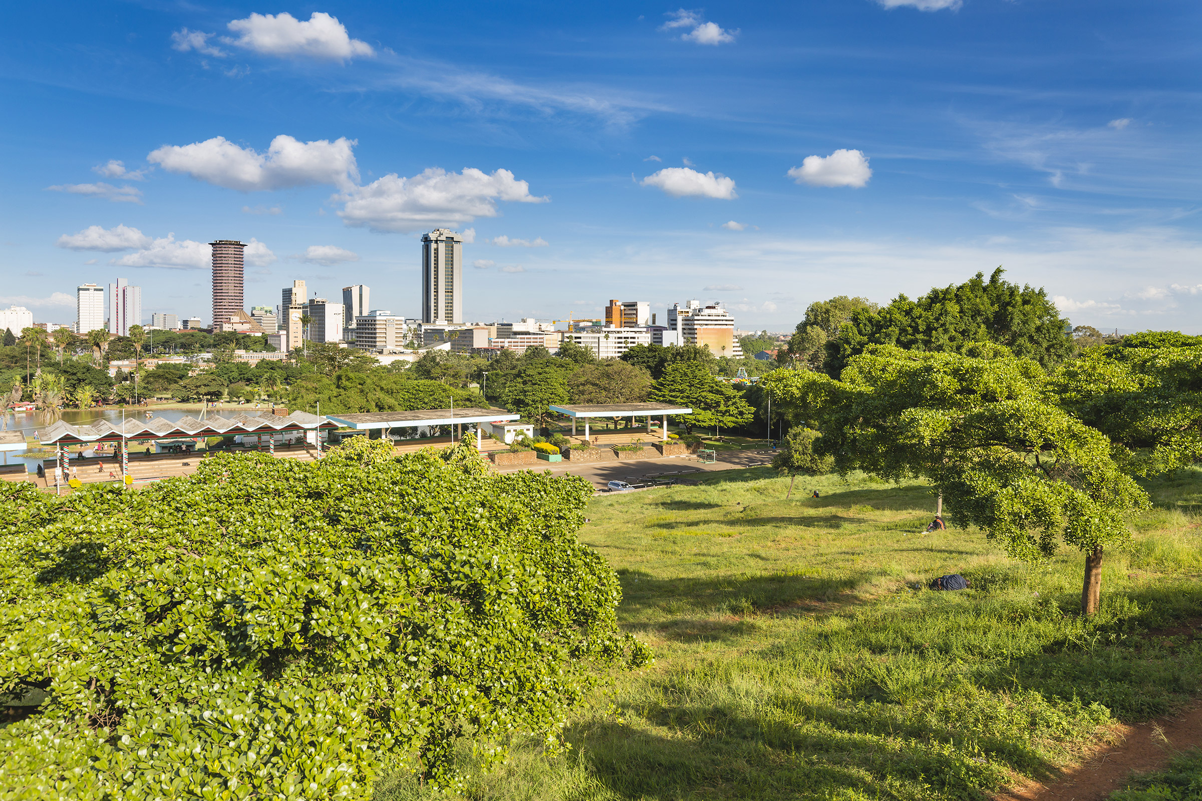 Kenya Nairobi Uhuru Park