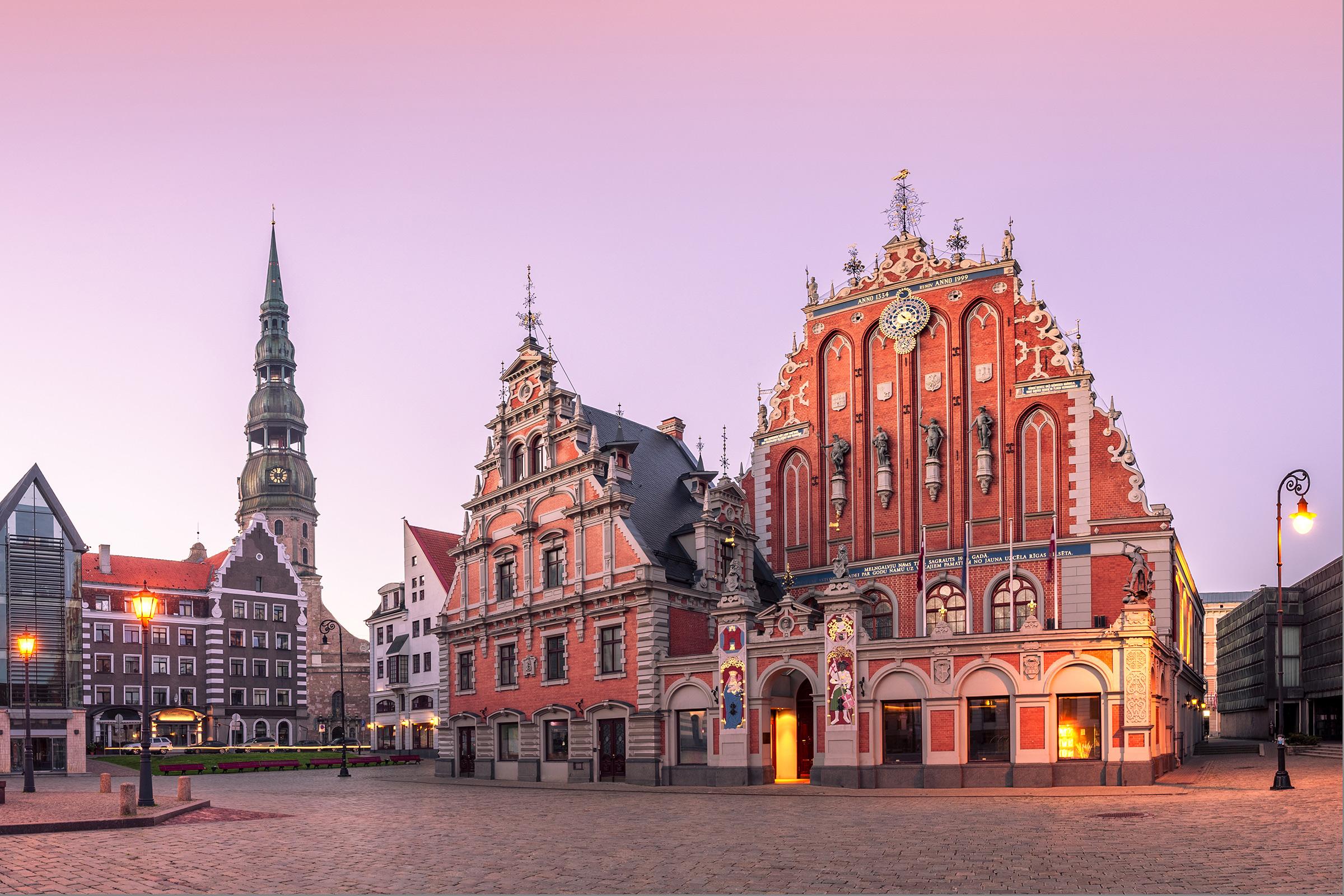 Latvia Old Town Riga