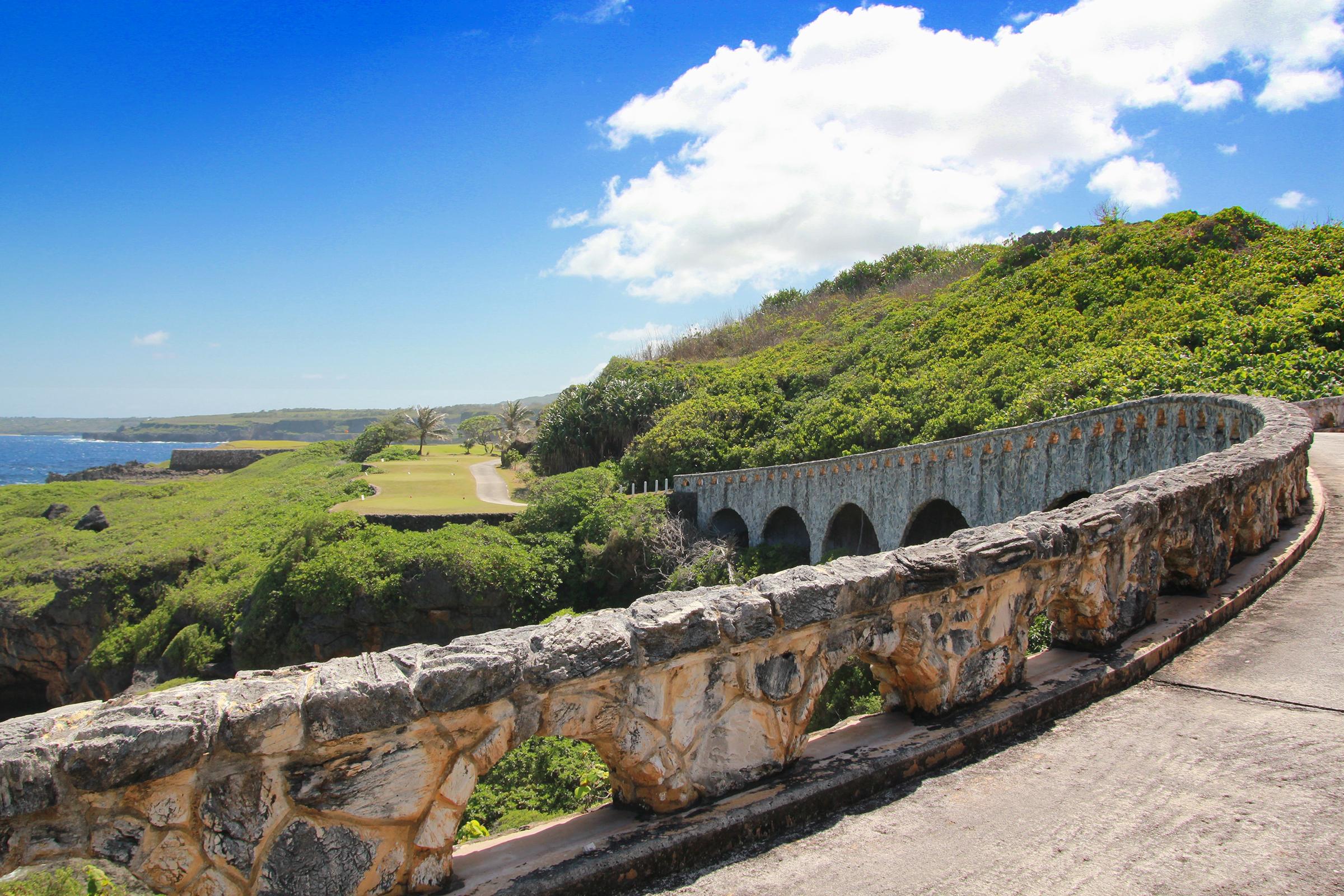 Northern Mariana Islands Stone Bridge