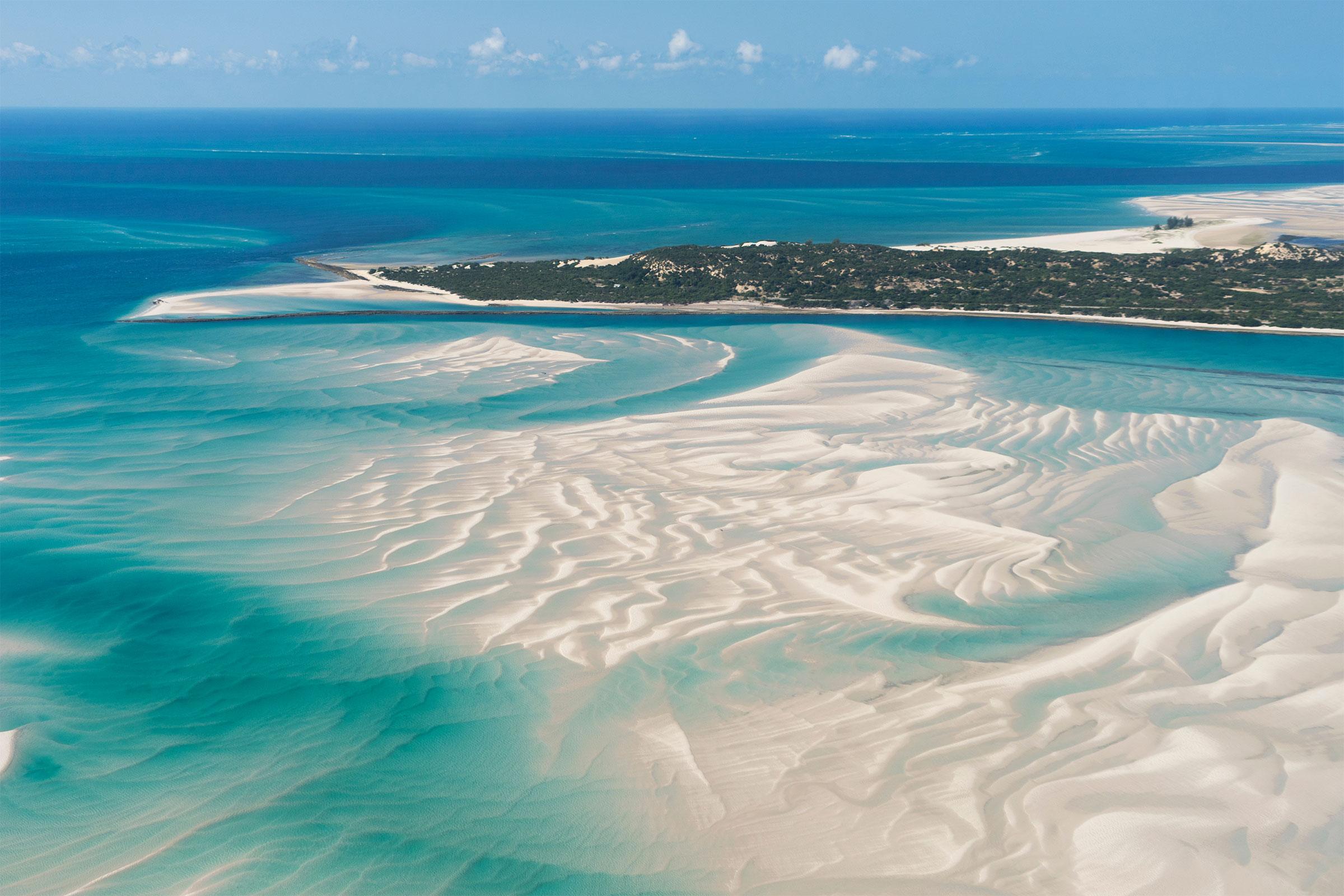 An Island in Vilankulo, Mozambique