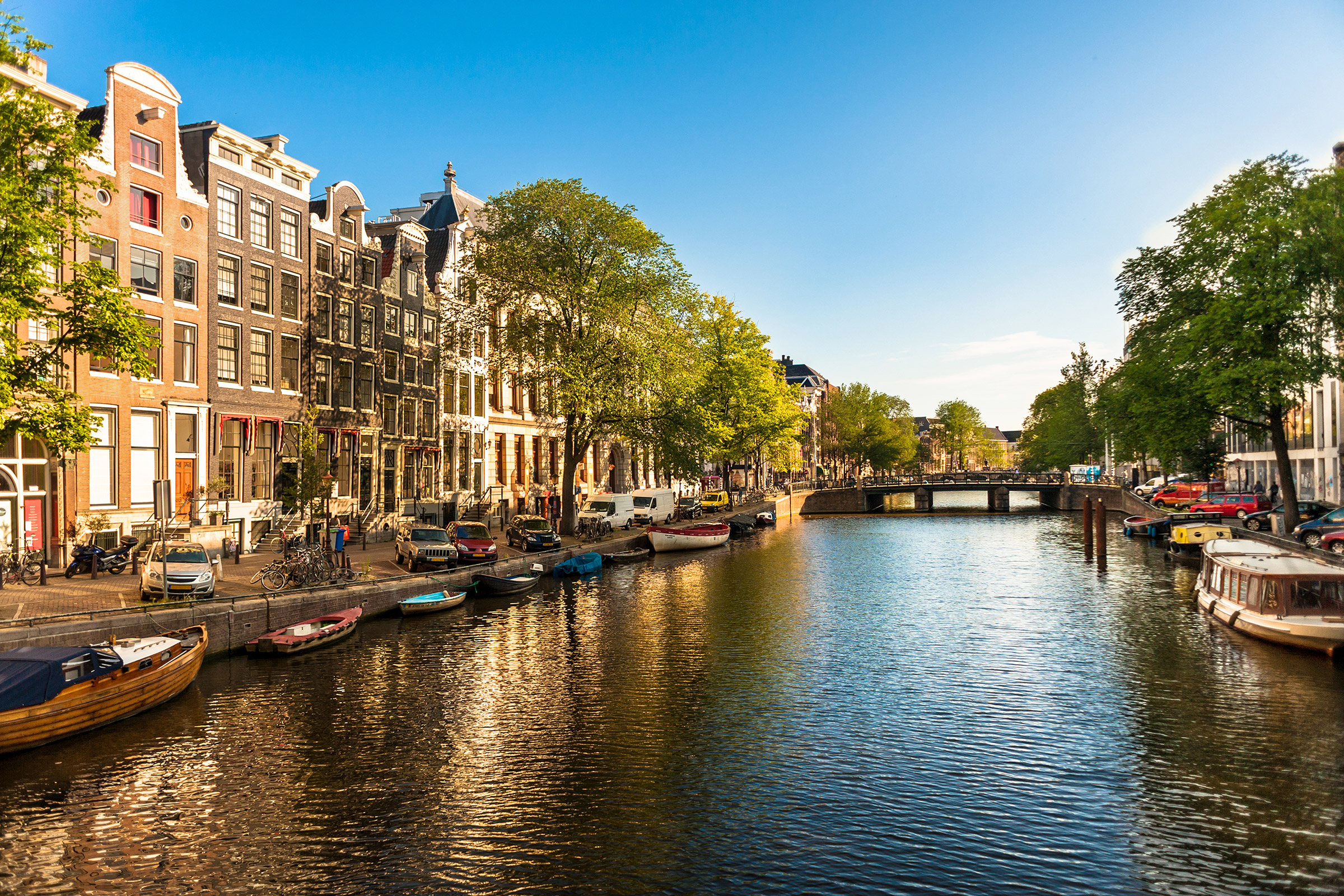 Netherlands Canals of Amsterdam