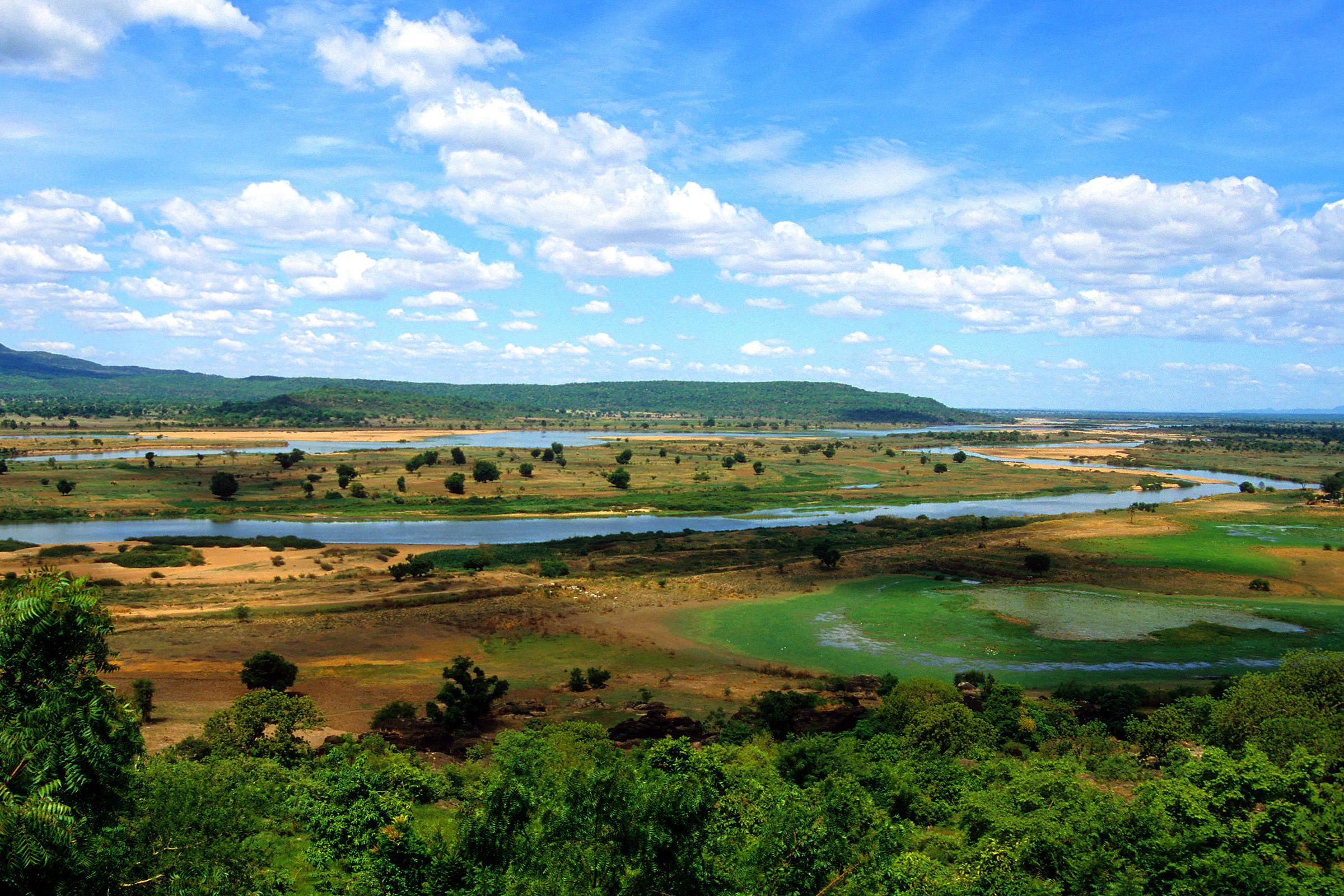 Nigeria Benue River