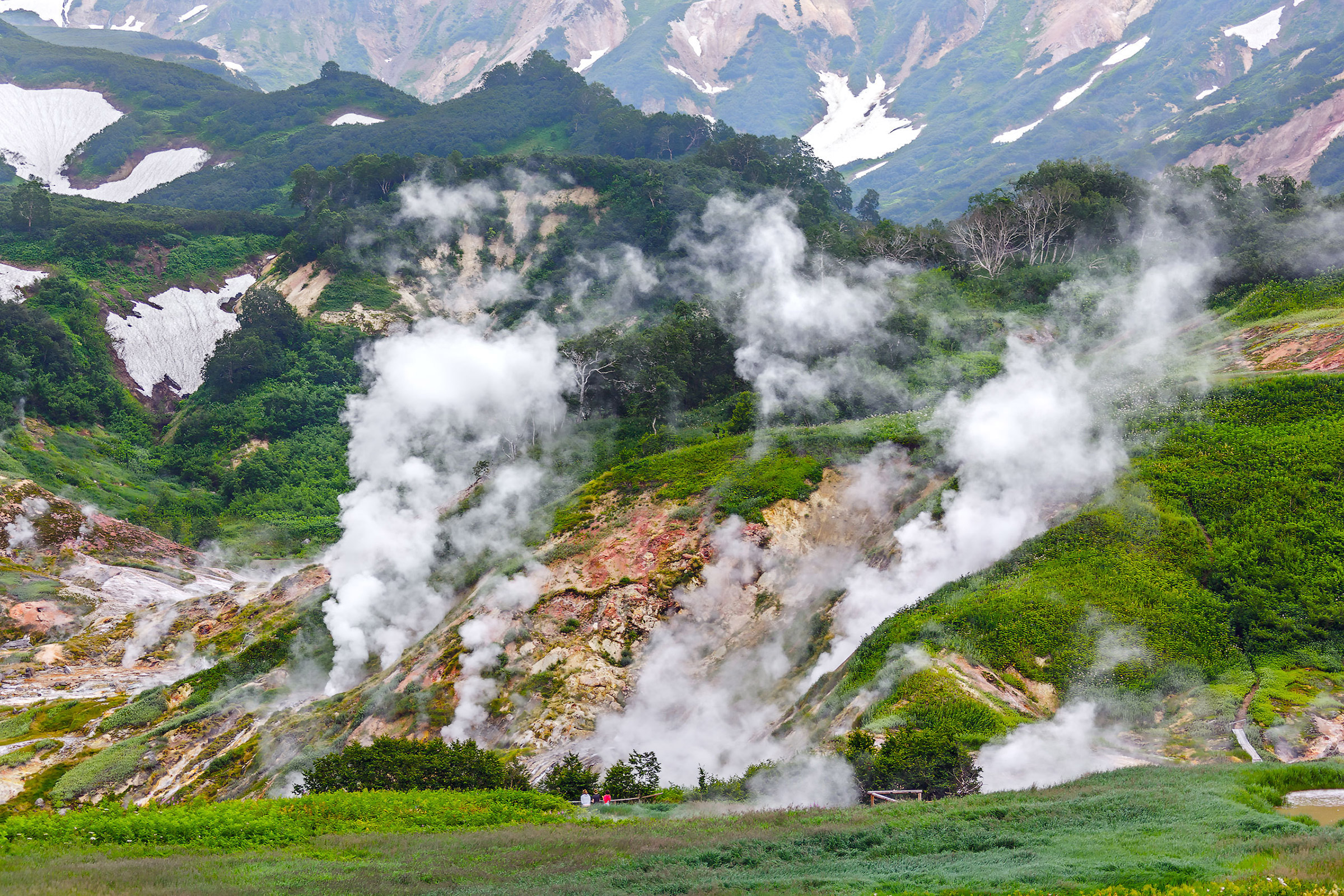 Russia Valley of Geysers