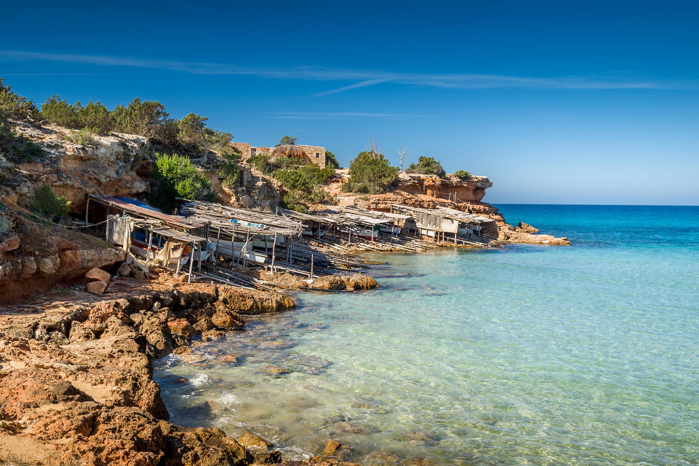 Spain Formentera Cala Saona