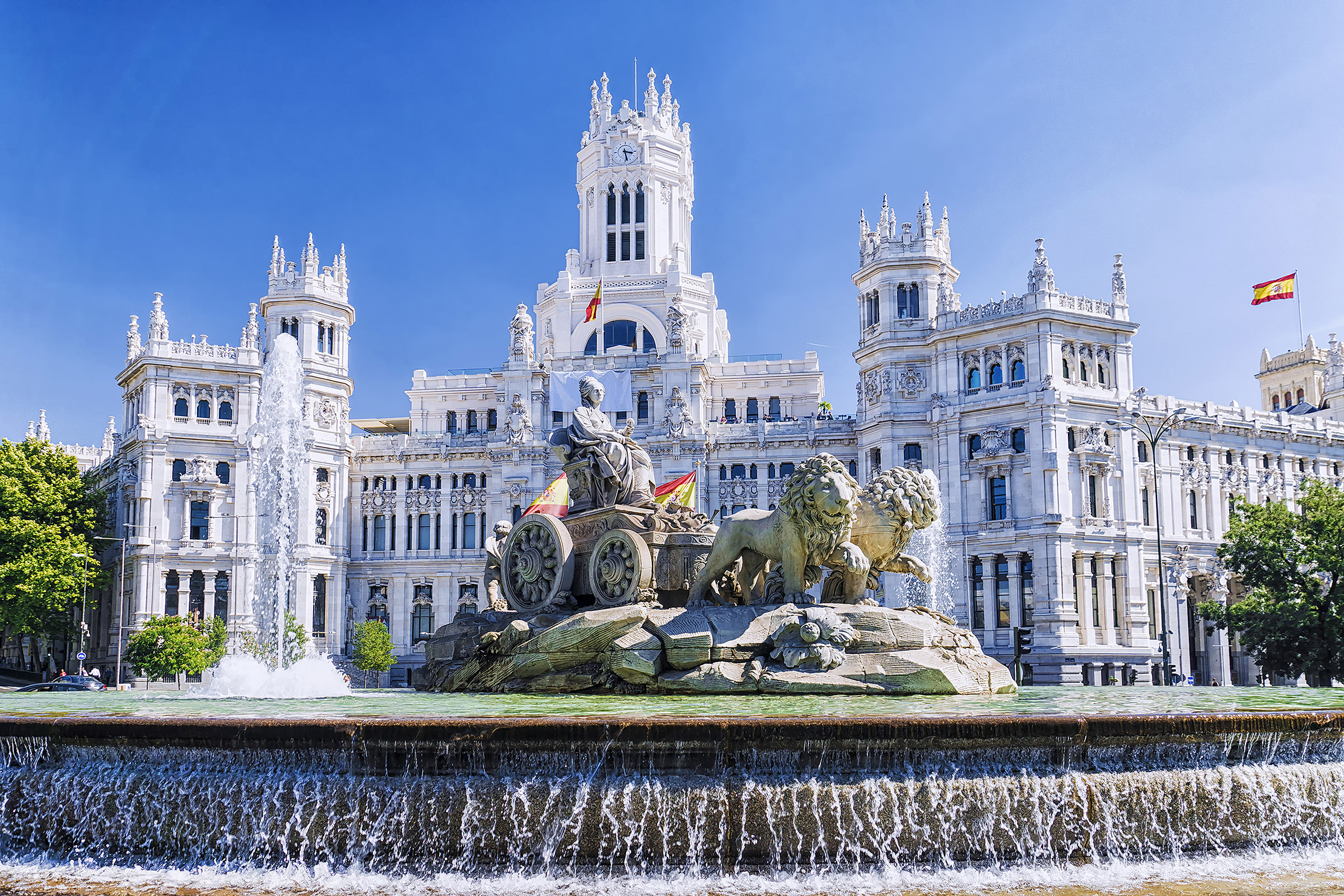 Spain Madrid Plaza de Cibeles