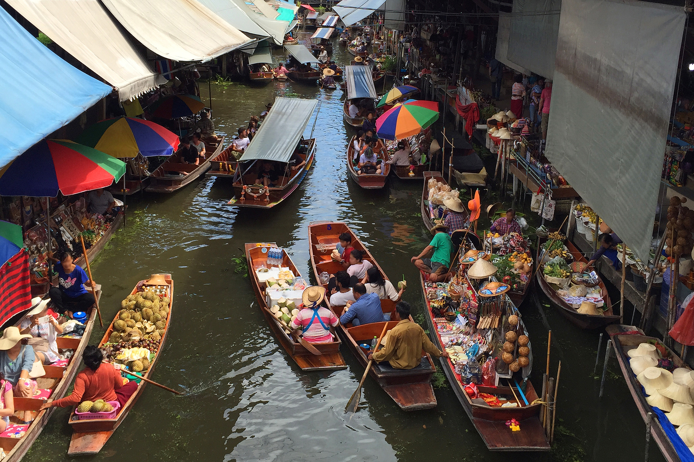 Thailand Damnoen Saduak Floating Market
