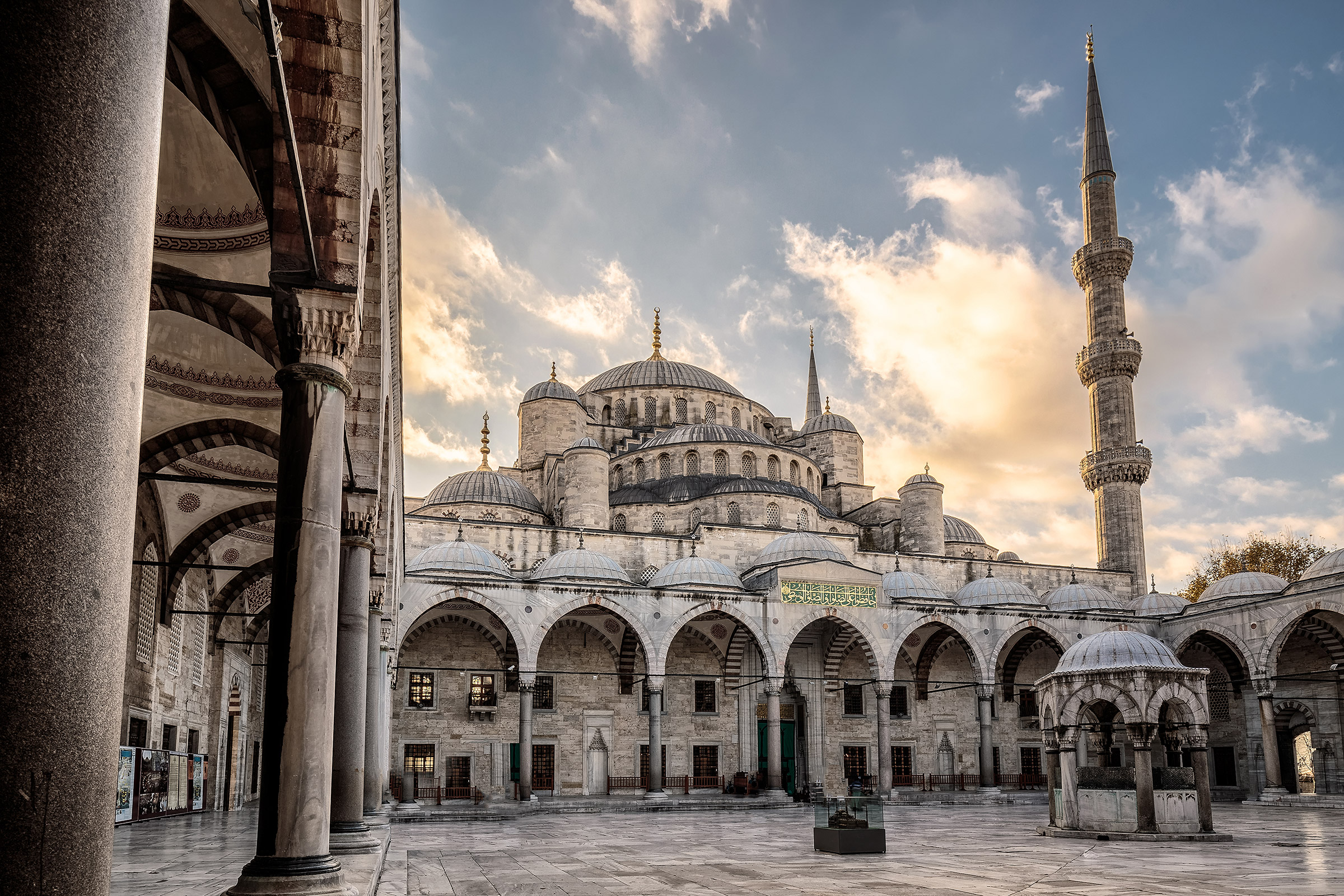 Turkey Istanbul Sultan Ahmed Mosque Blue Mosque