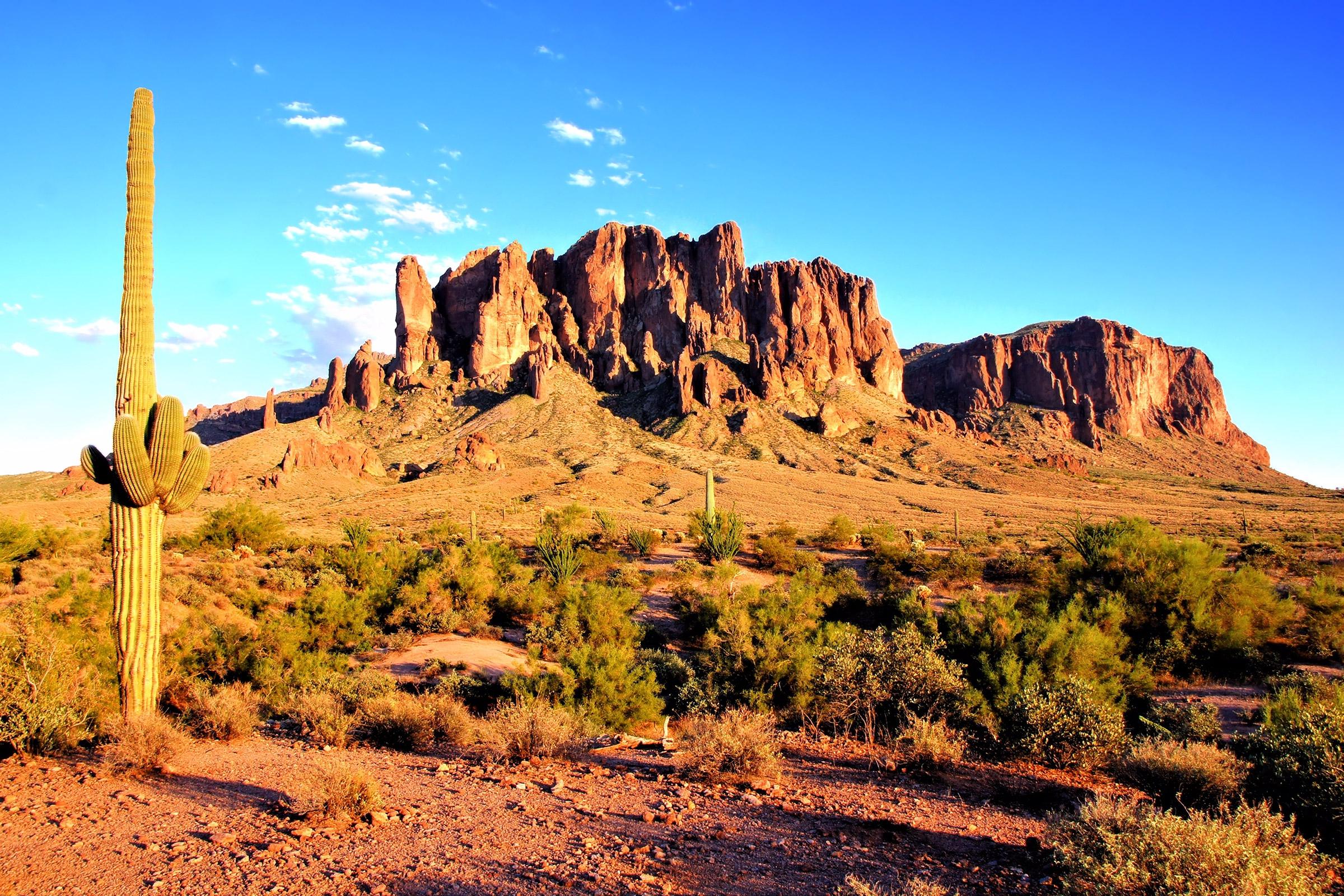 United States Arizona Phoenix Superstition Mountains