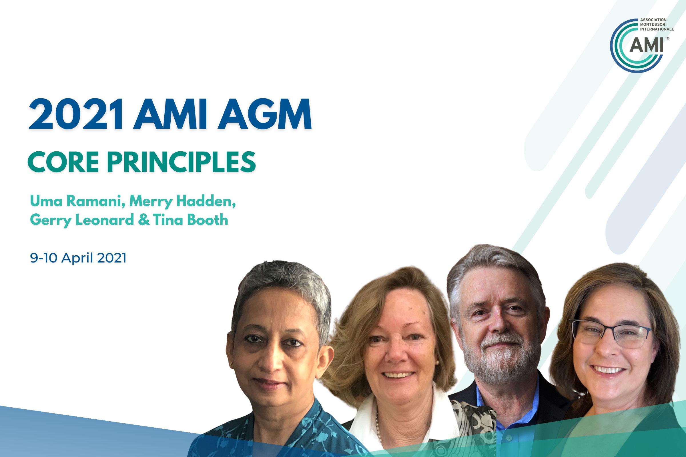 AMI AGM Speakers Core Principles
