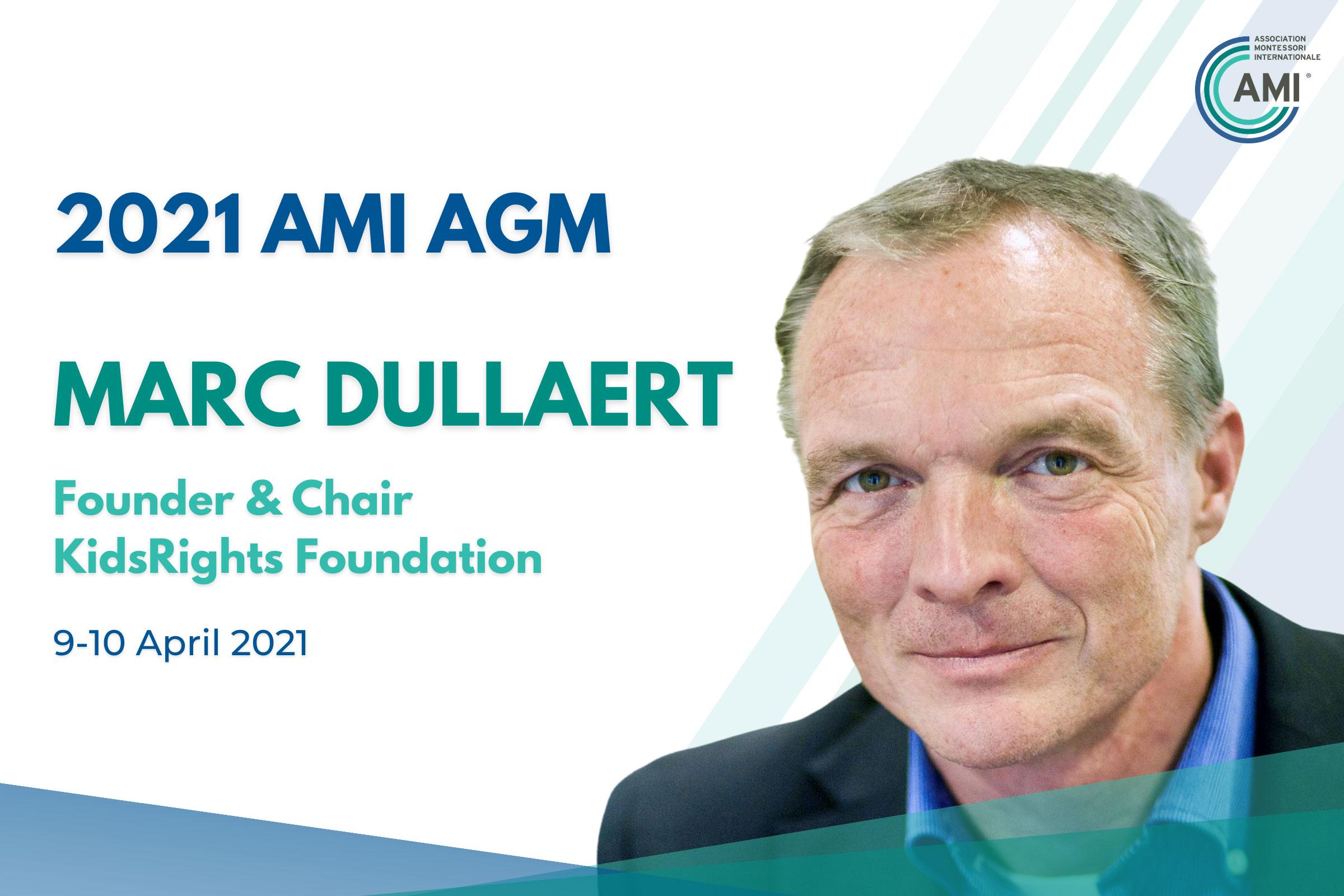AMI AGM Speaker Marc Dullaert