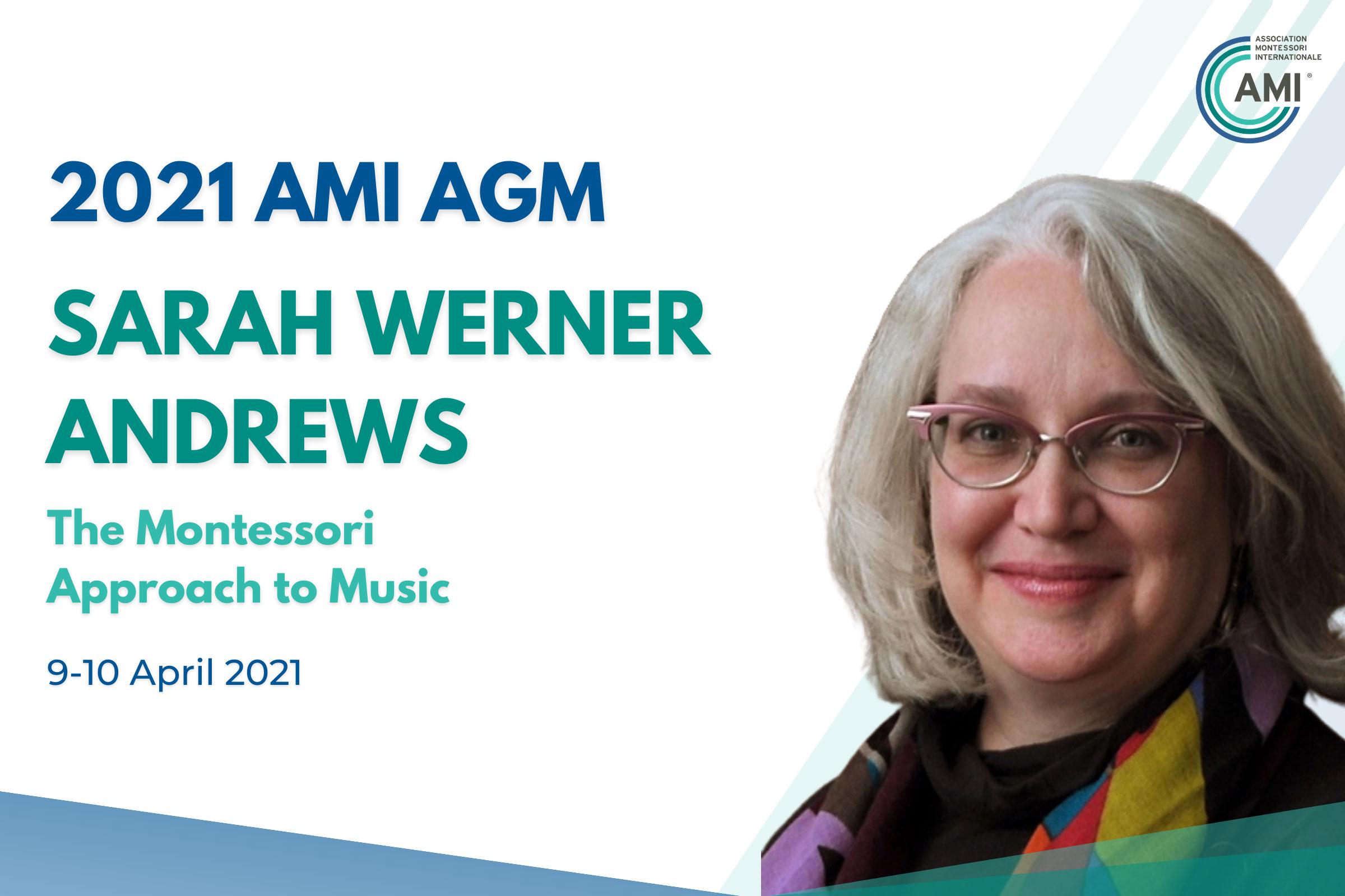AMI AGM Speaker Sarah Werner Andrews