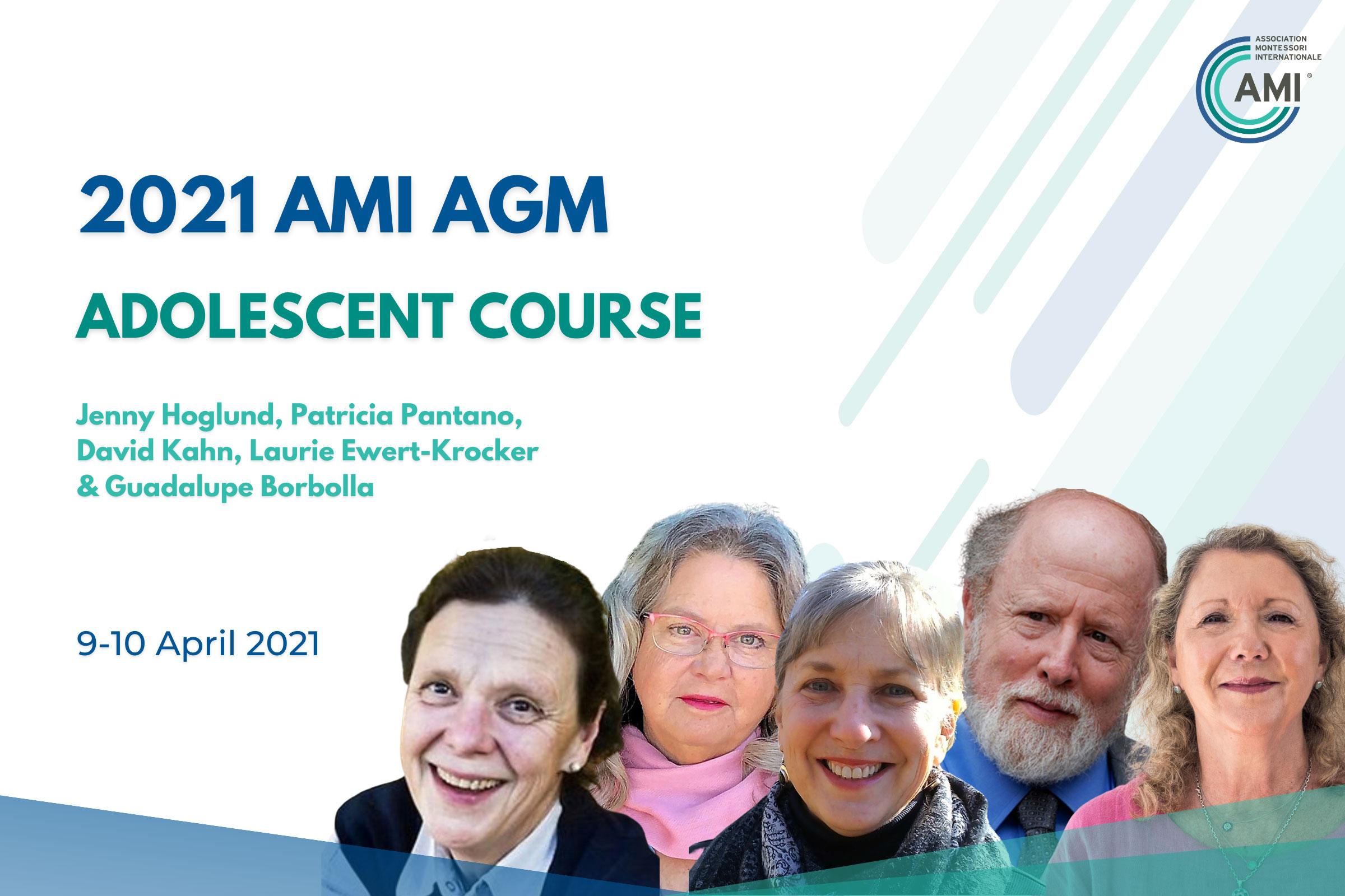 AMI AGM Speakers Adolescent Course