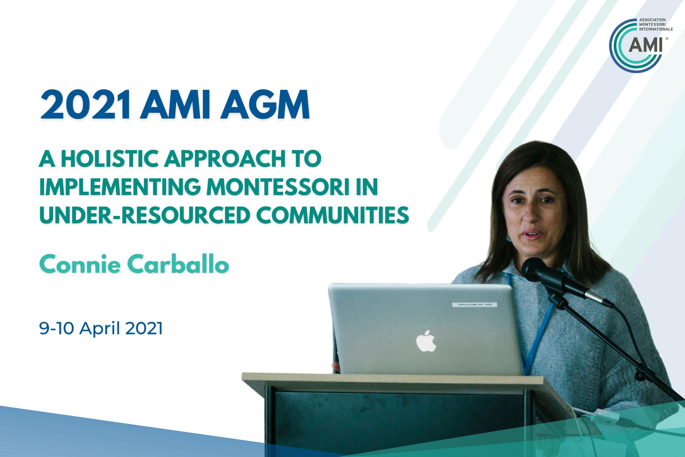AMI AGM Speakers Connie Carballo