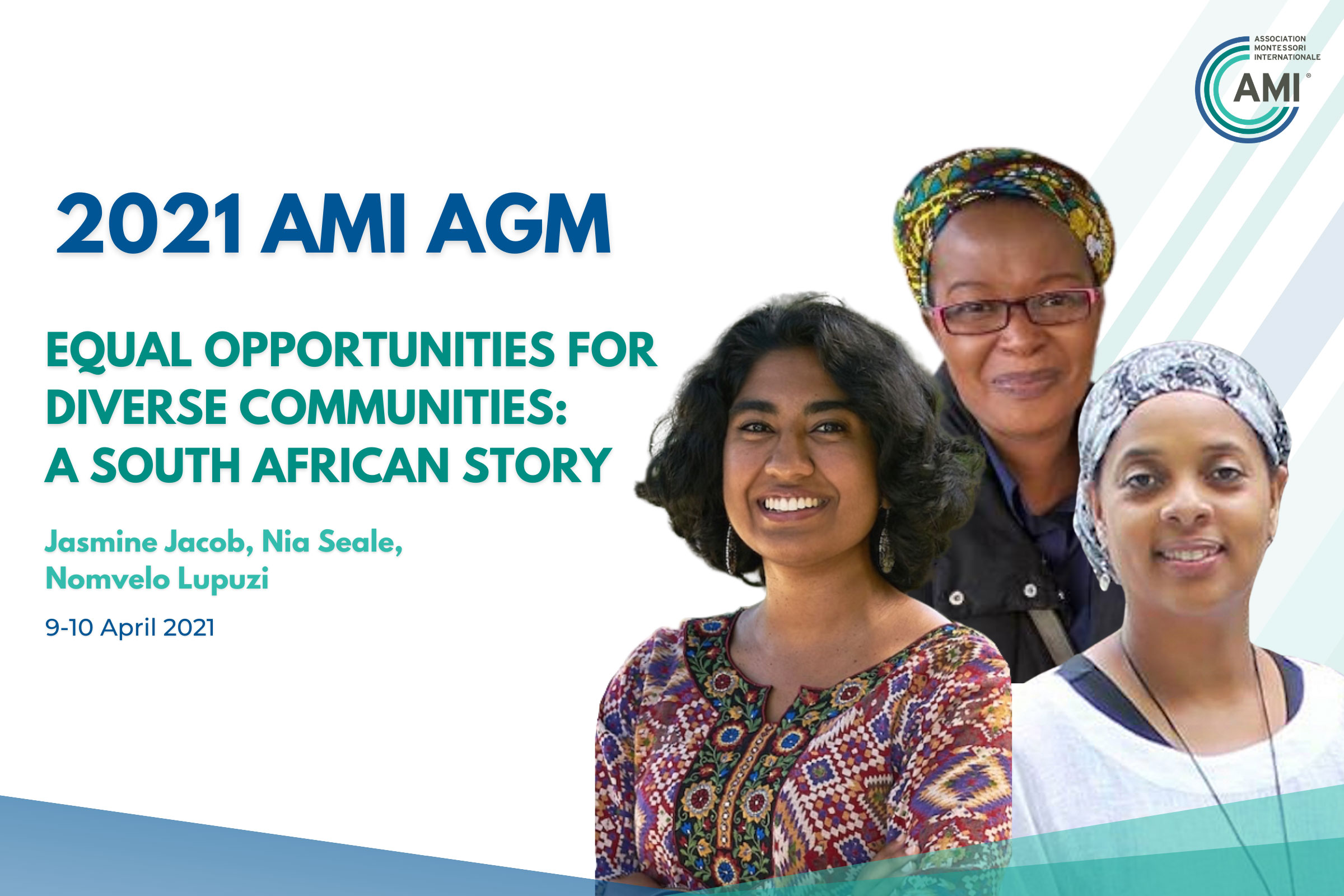 AMI AGM Speakers Equal Opportunity