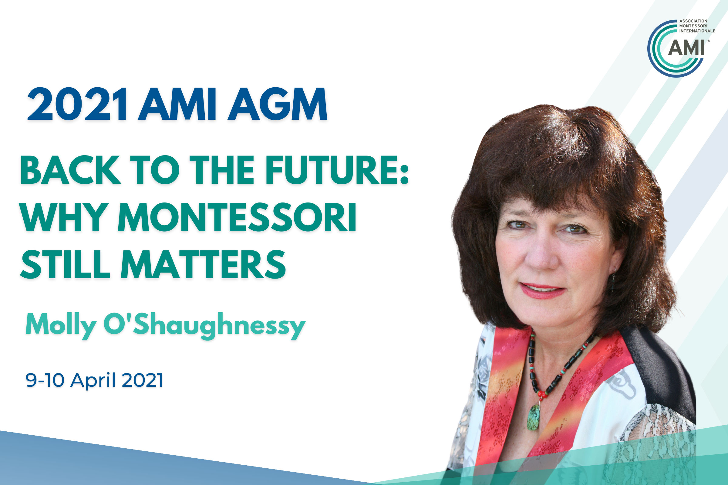 AMI AGM Speakers Molly O'Shaughnessy