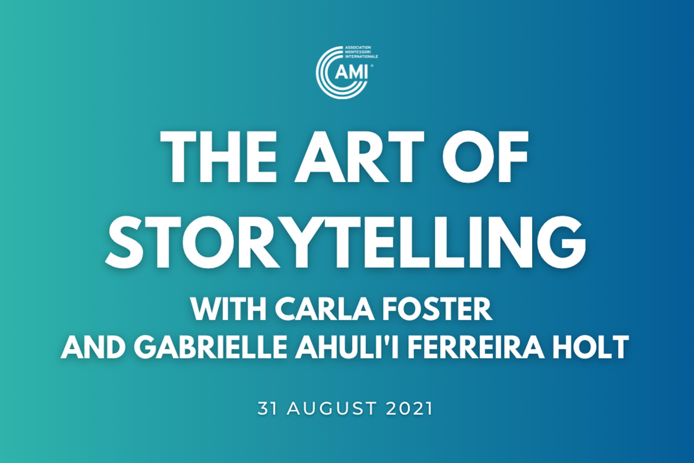 AMI Talks – The Art of Storytelling