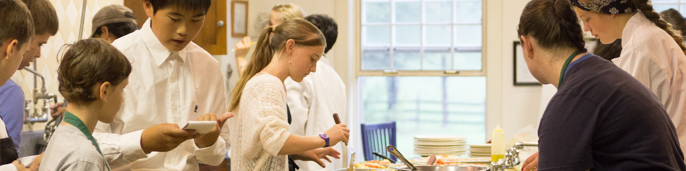 About AMI Accountability Adolescent Cooking