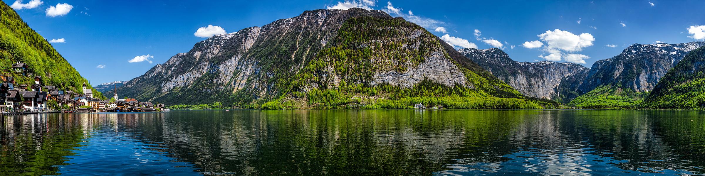 Austria Alps Lake Hallstatt