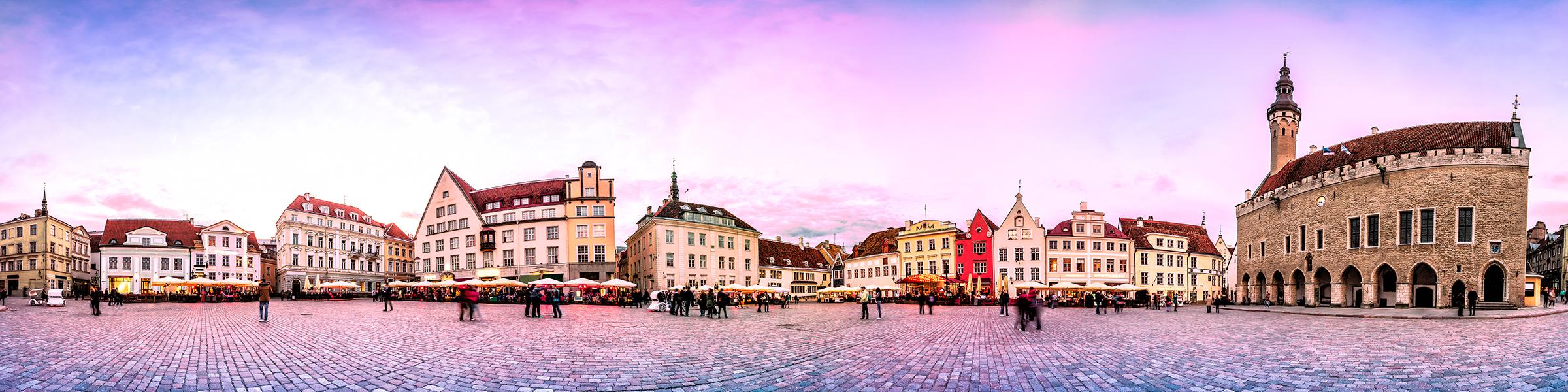 Estonia Tallinn Town Hall Square
