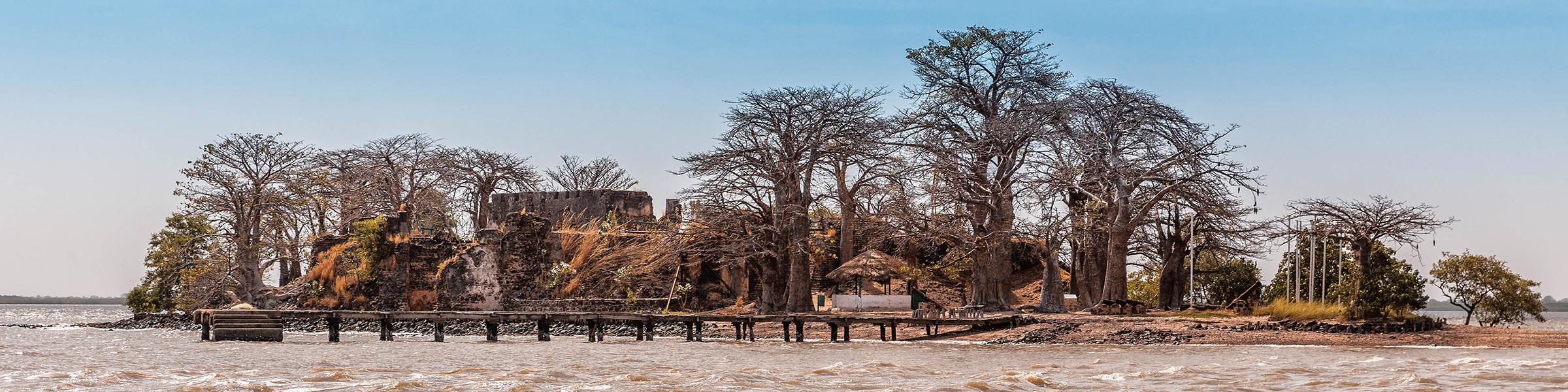 Gambia River Kunta Kinteh Island