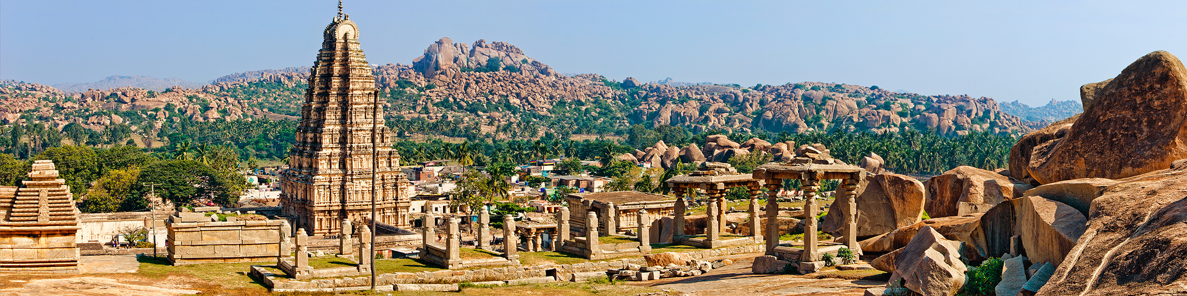 India Hampi Virupaksha Temple