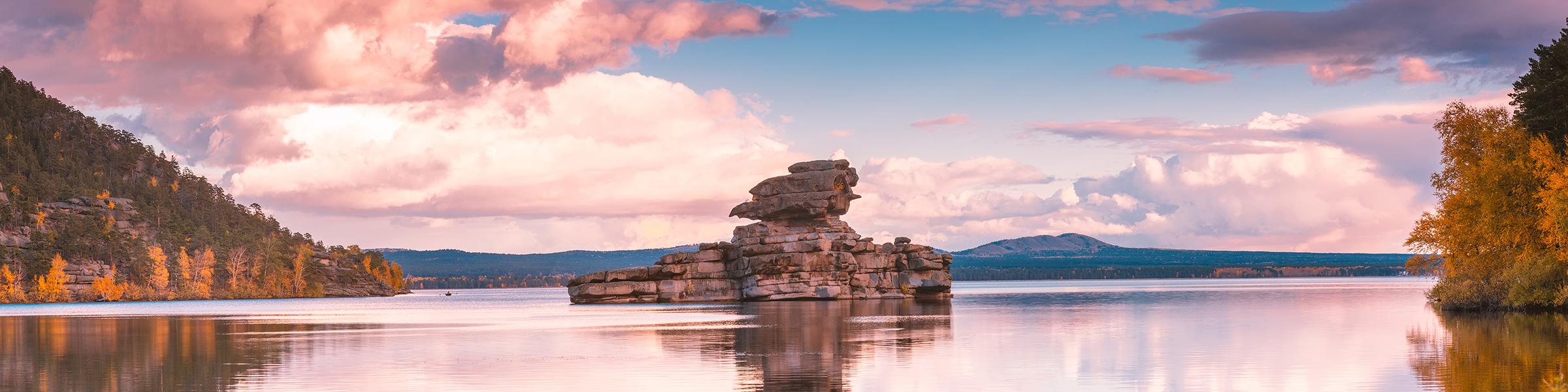 Borovoe Lake, Burabay National Park, Kazakhstan