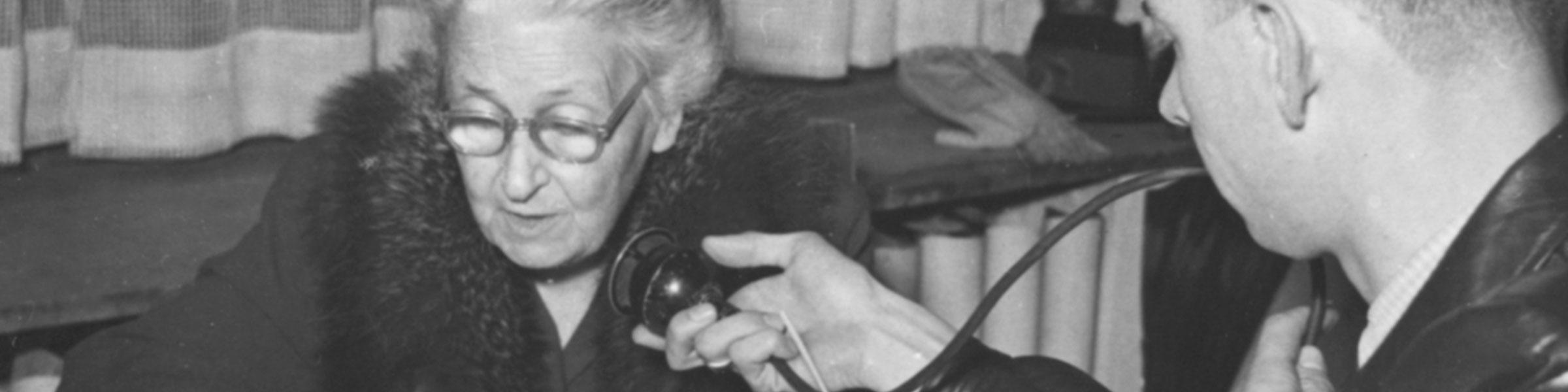 Maria Montessori interviewed 1951