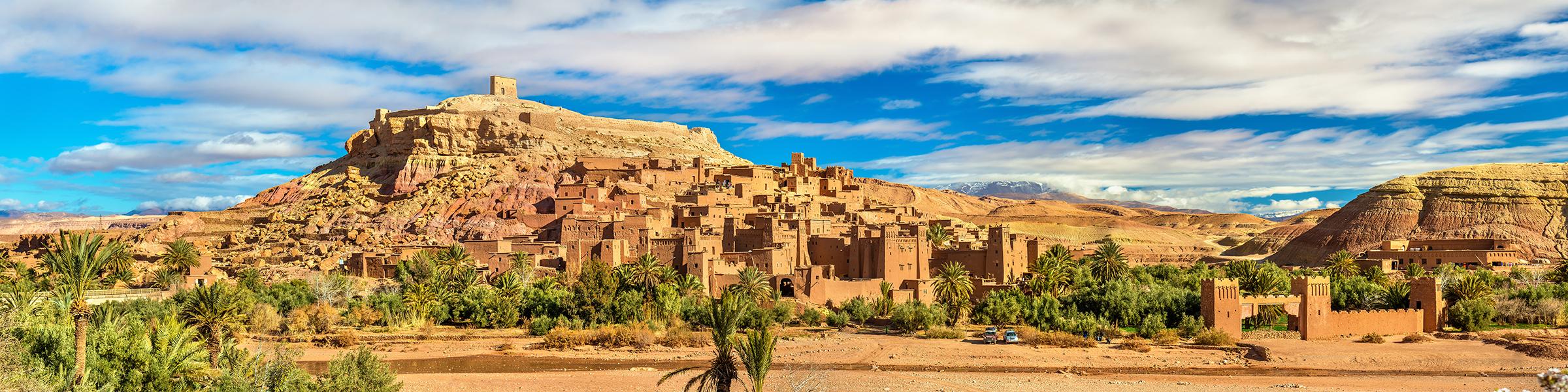 Morocco Ksar of Ait Ben Haddou