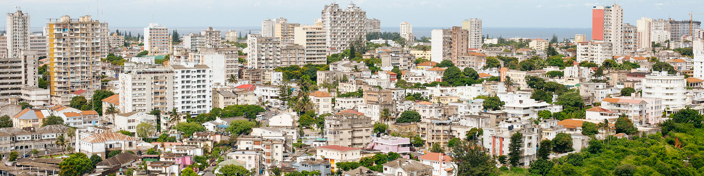 Maputo, capital of Mozambique