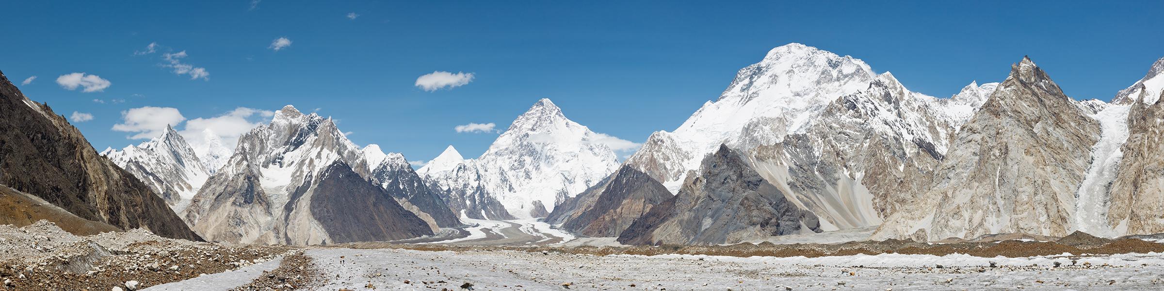 Pakistan Karakoram Baltoro Glacier K2