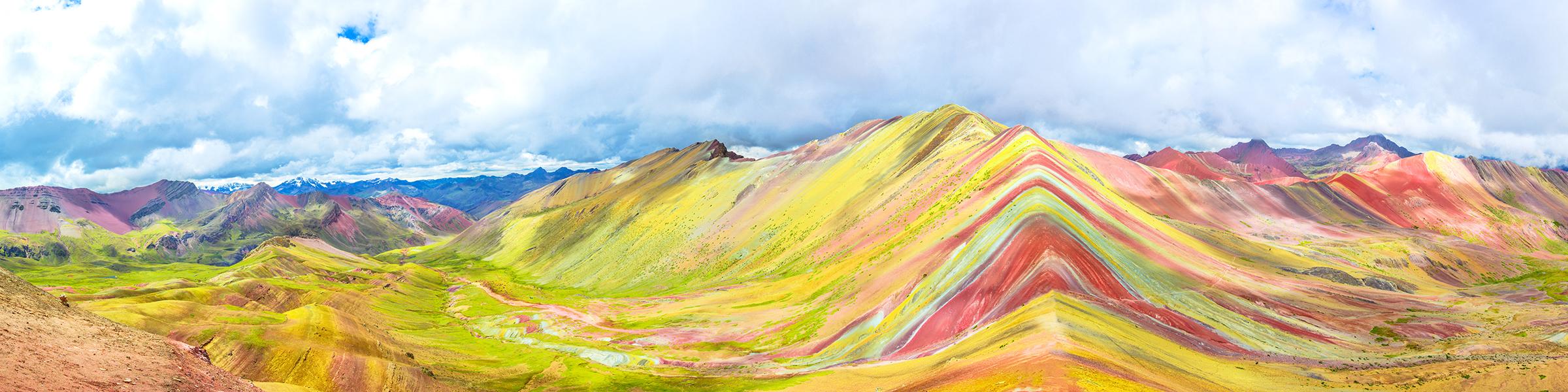 Peru Vinicunca Rainbow Mountain