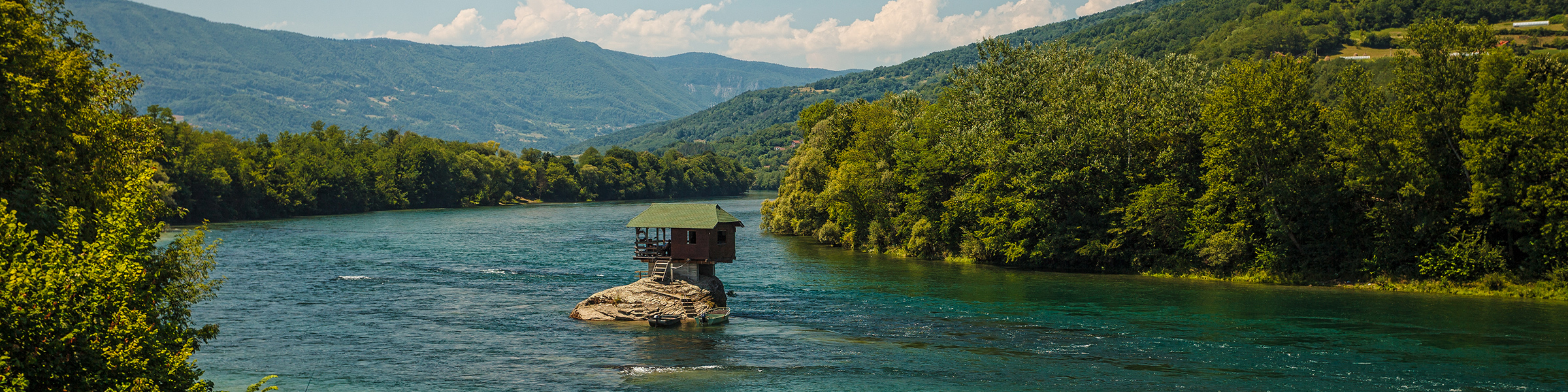 Serbia Tara National Park Drina River